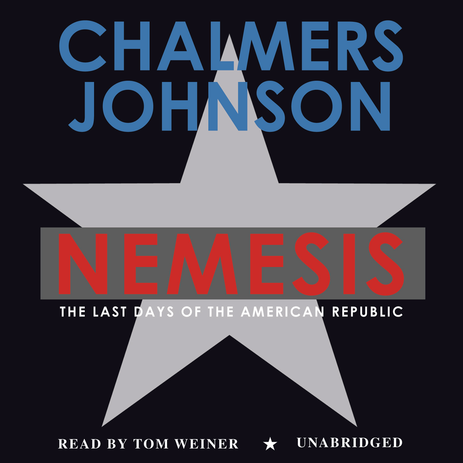 Printable Nemesis: The Last Days of the American Republic Audiobook Cover Art