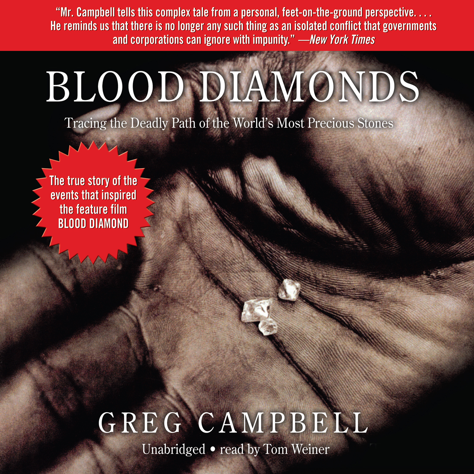 Printable Blood Diamonds: Tracing the Path of the World's Most Precious Stones Audiobook Cover Art