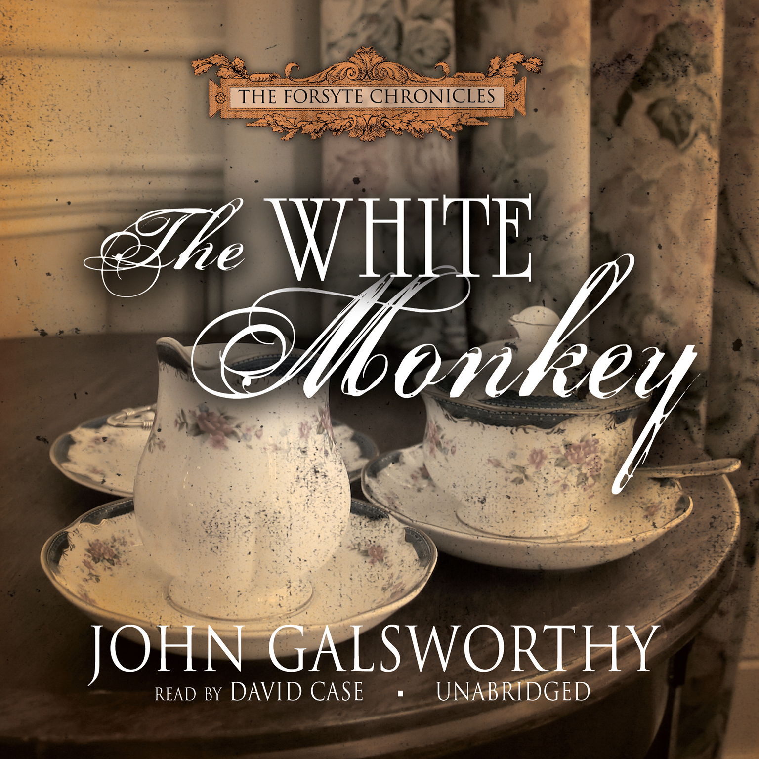 Printable The White Monkey Audiobook Cover Art