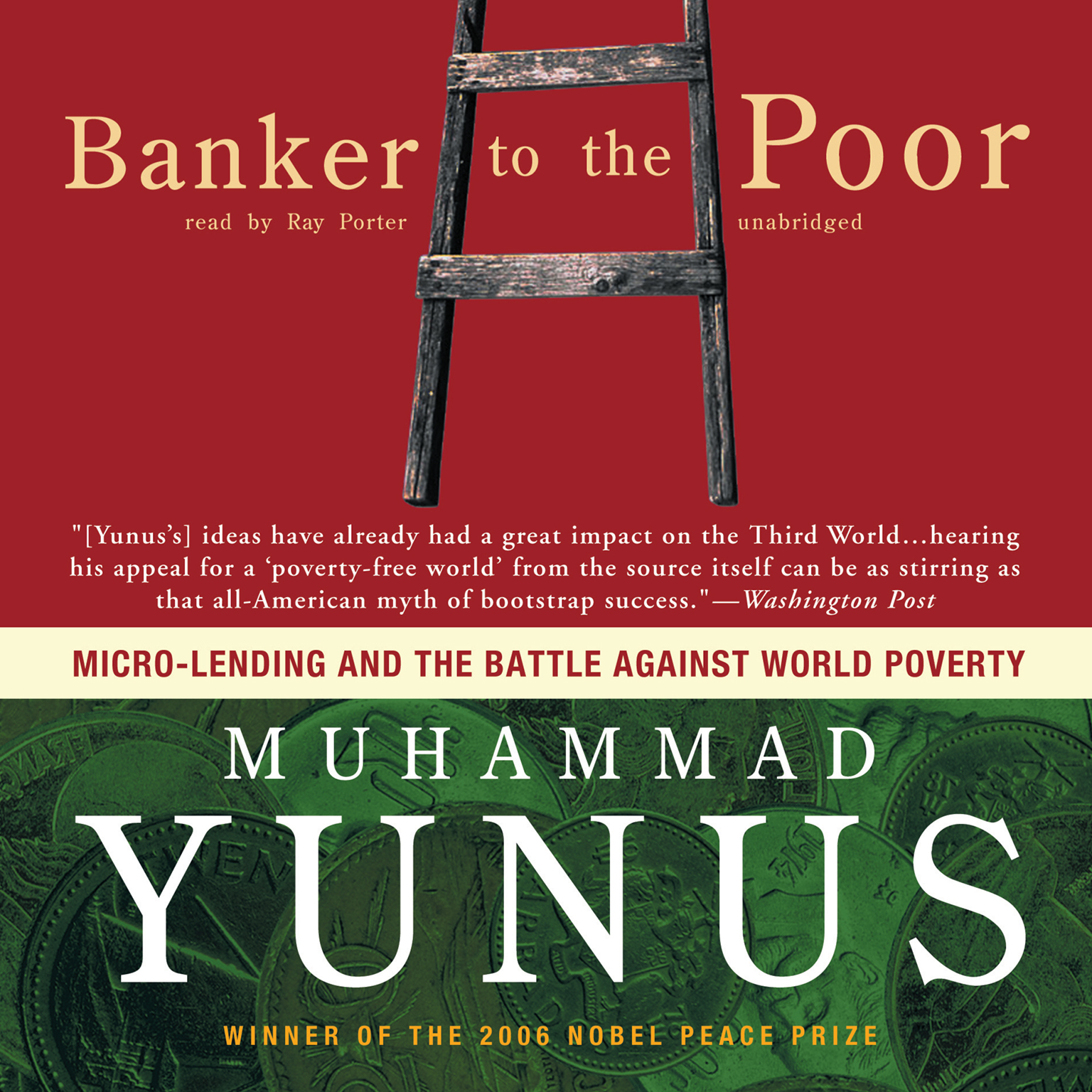 Printable Banker to the Poor: Micro-Lending and the Battle against World Poverty Audiobook Cover Art