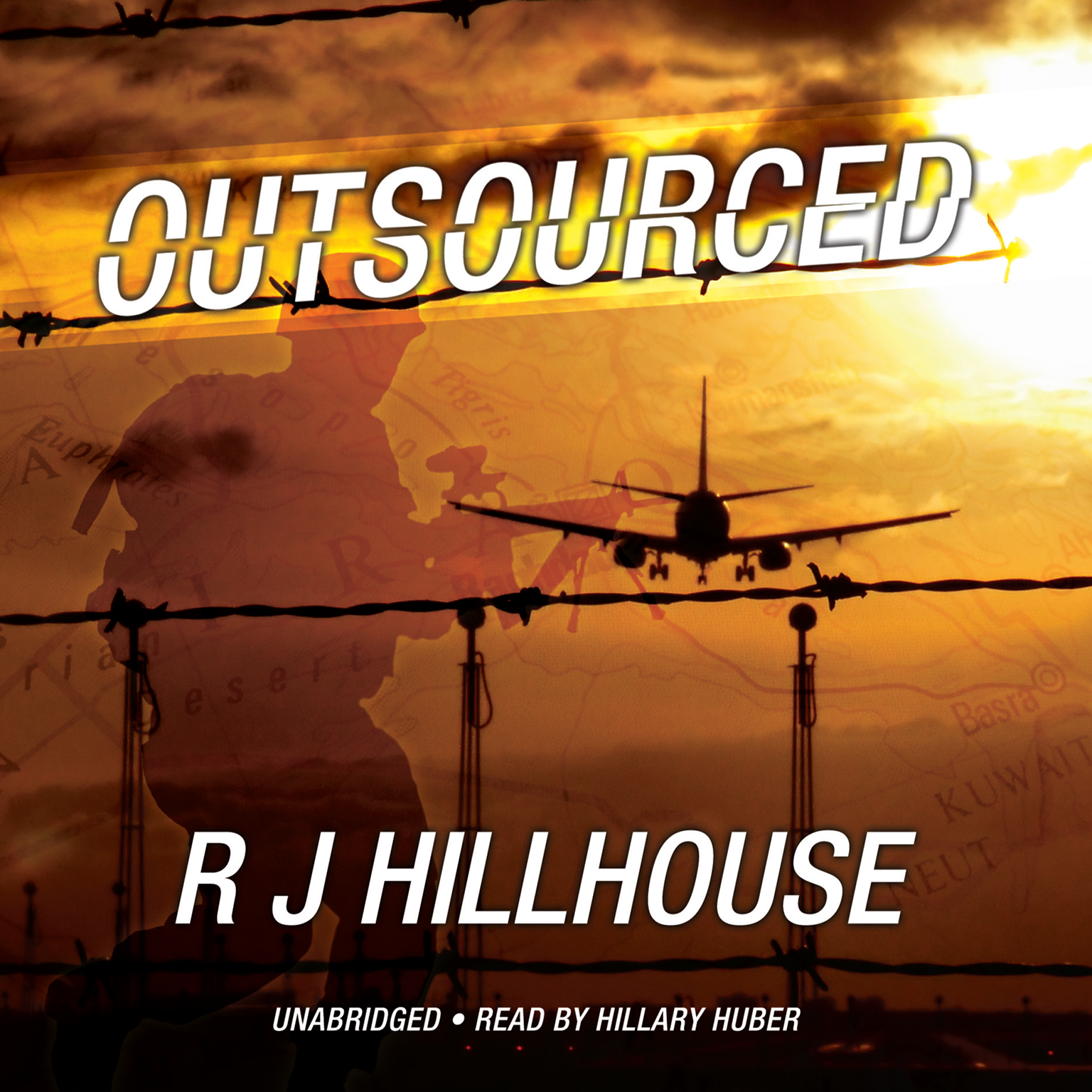 Printable Outsourced Audiobook Cover Art
