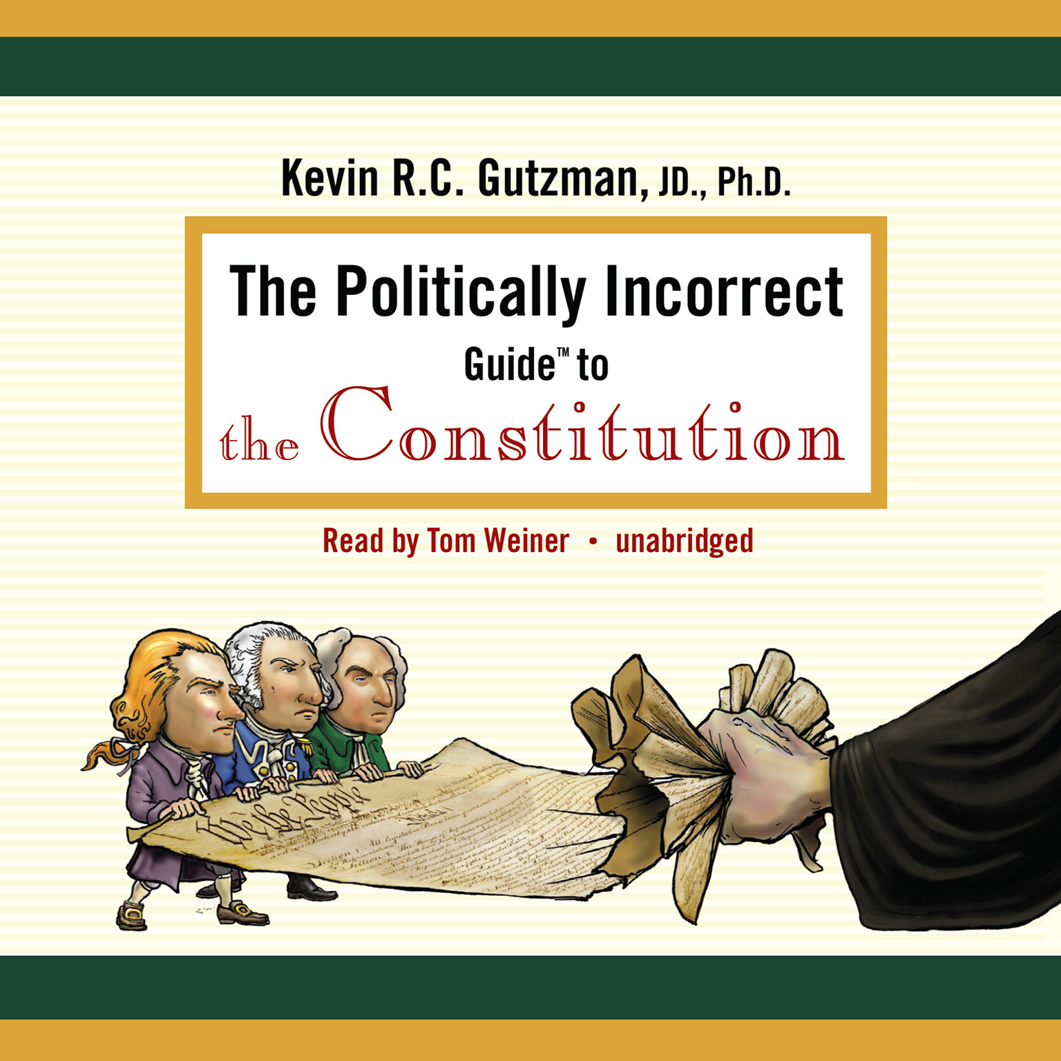 Printable The Politically Incorrect Guide to the Constitution Audiobook Cover Art