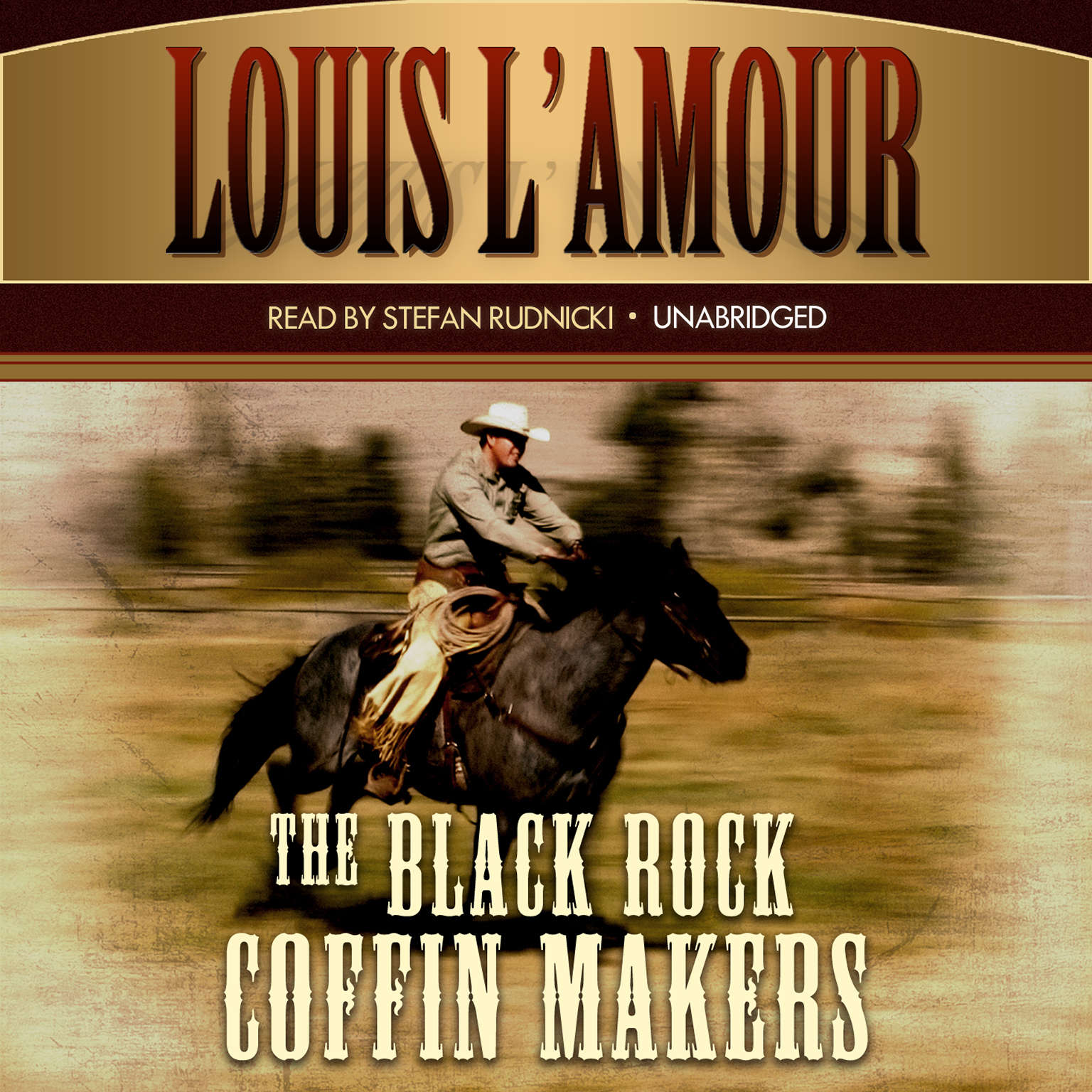 Printable The Black Rock Coffin Makers Audiobook Cover Art