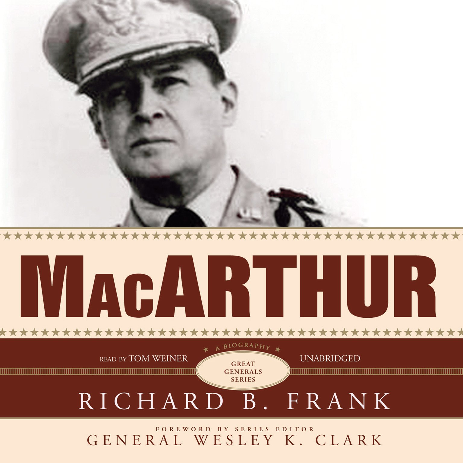 Printable MacArthur Audiobook Cover Art
