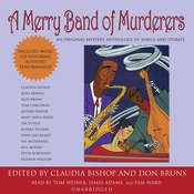 A Merry Band of Murderers: An Original Mystery Anthology of Songs and Stories, by Claudia Bishop, Don Bruns