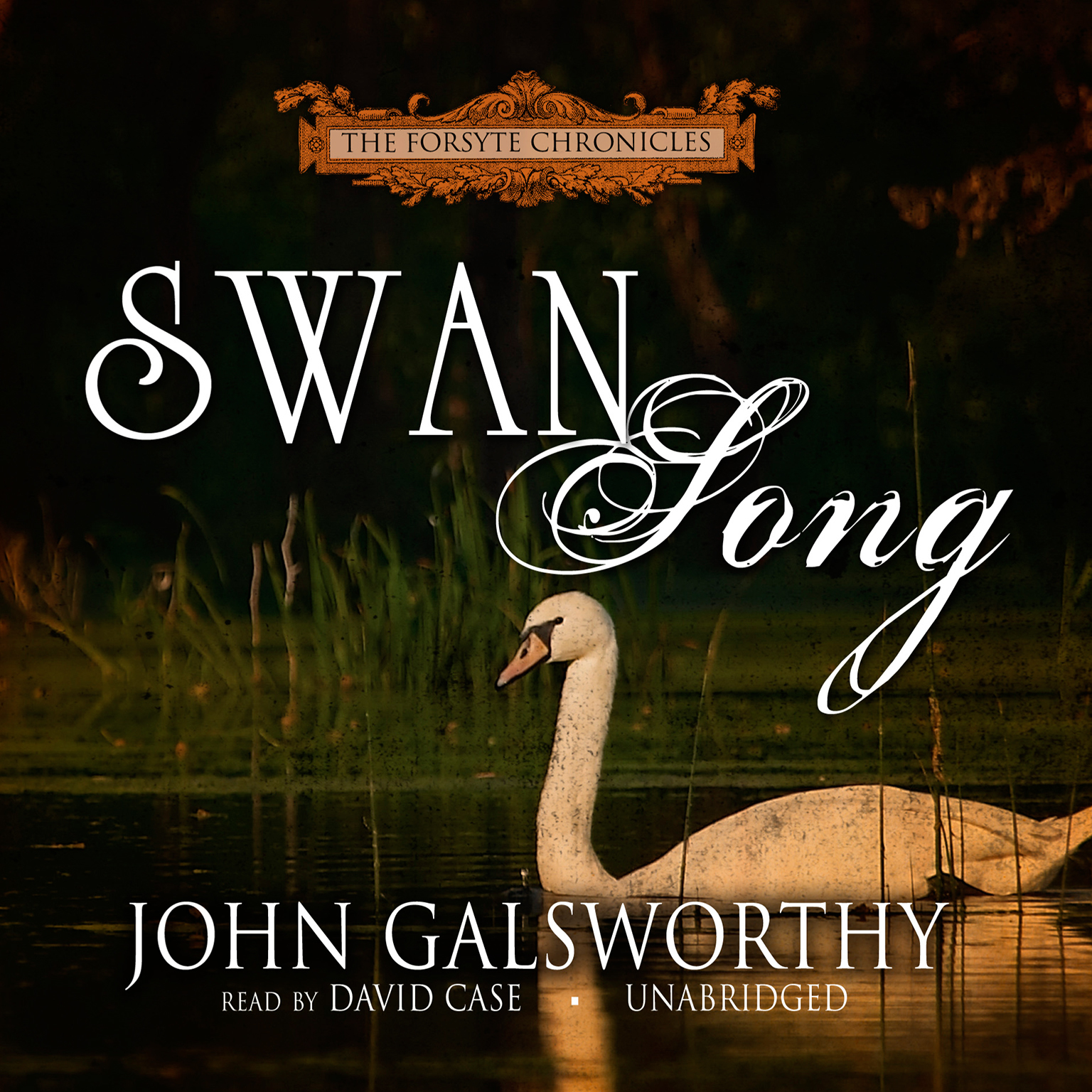 Printable Swan Song Audiobook Cover Art