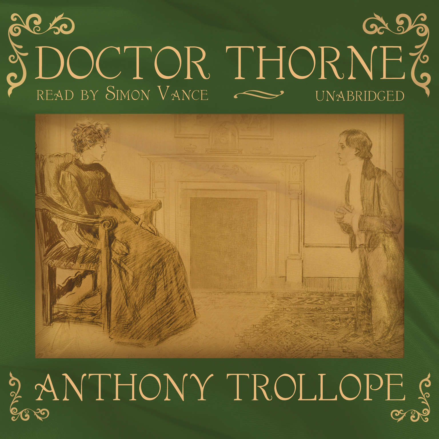 Printable Doctor Thorne Audiobook Cover Art