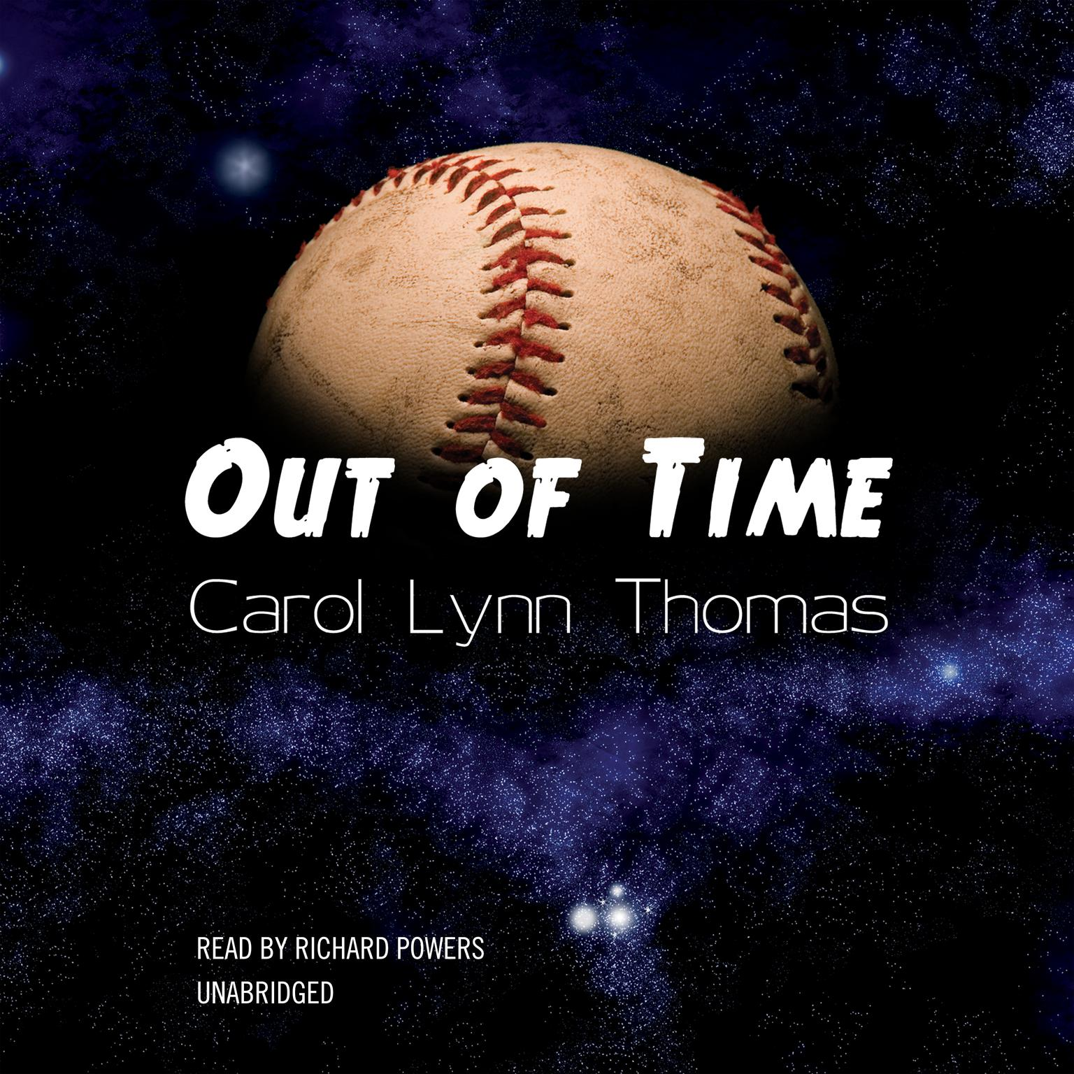 Printable Out of Time Audiobook Cover Art