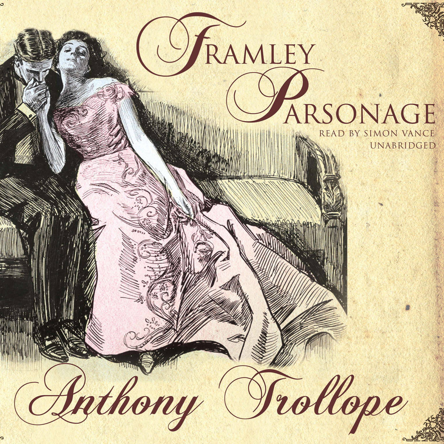 Printable Framley Parsonage Audiobook Cover Art