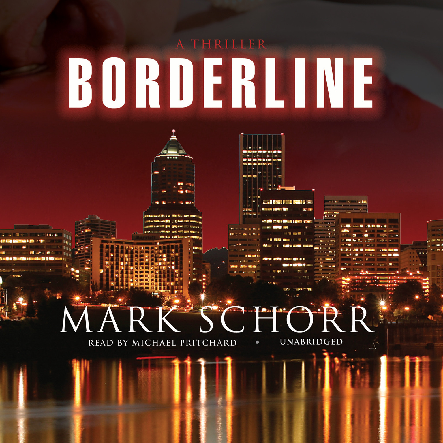 Printable Borderline Audiobook Cover Art