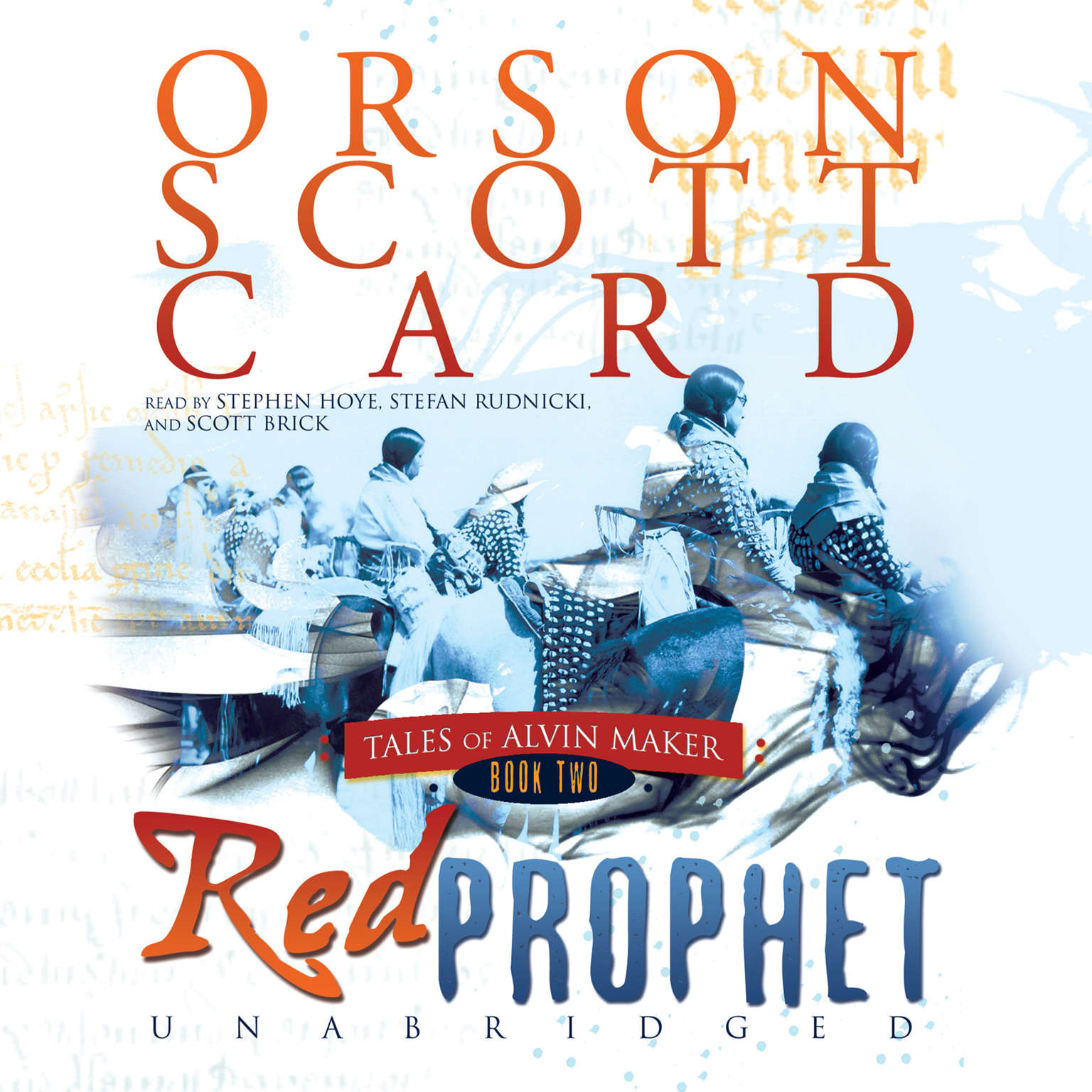 Printable Red Prophet Audiobook Cover Art