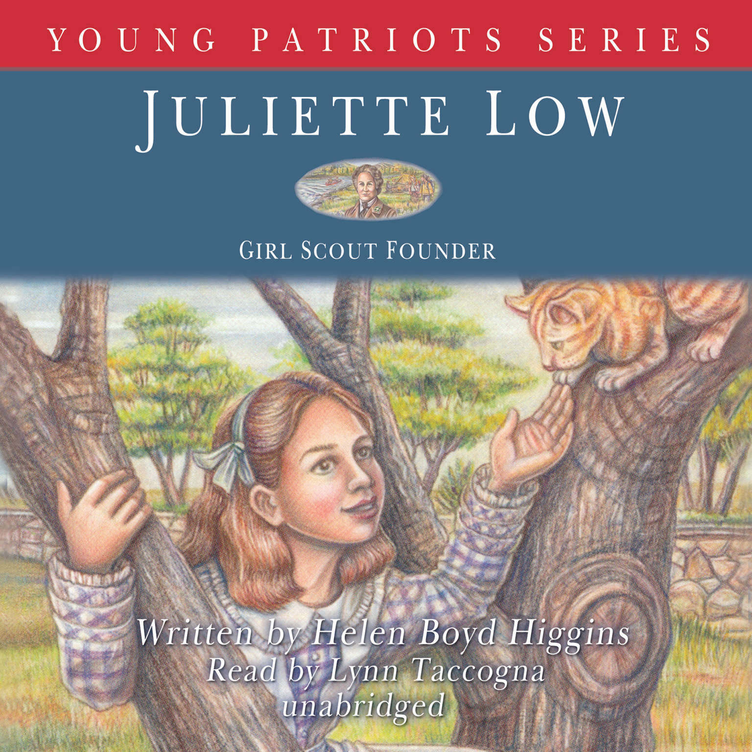 Printable Juliette Low: Girl Scout Founder Audiobook Cover Art