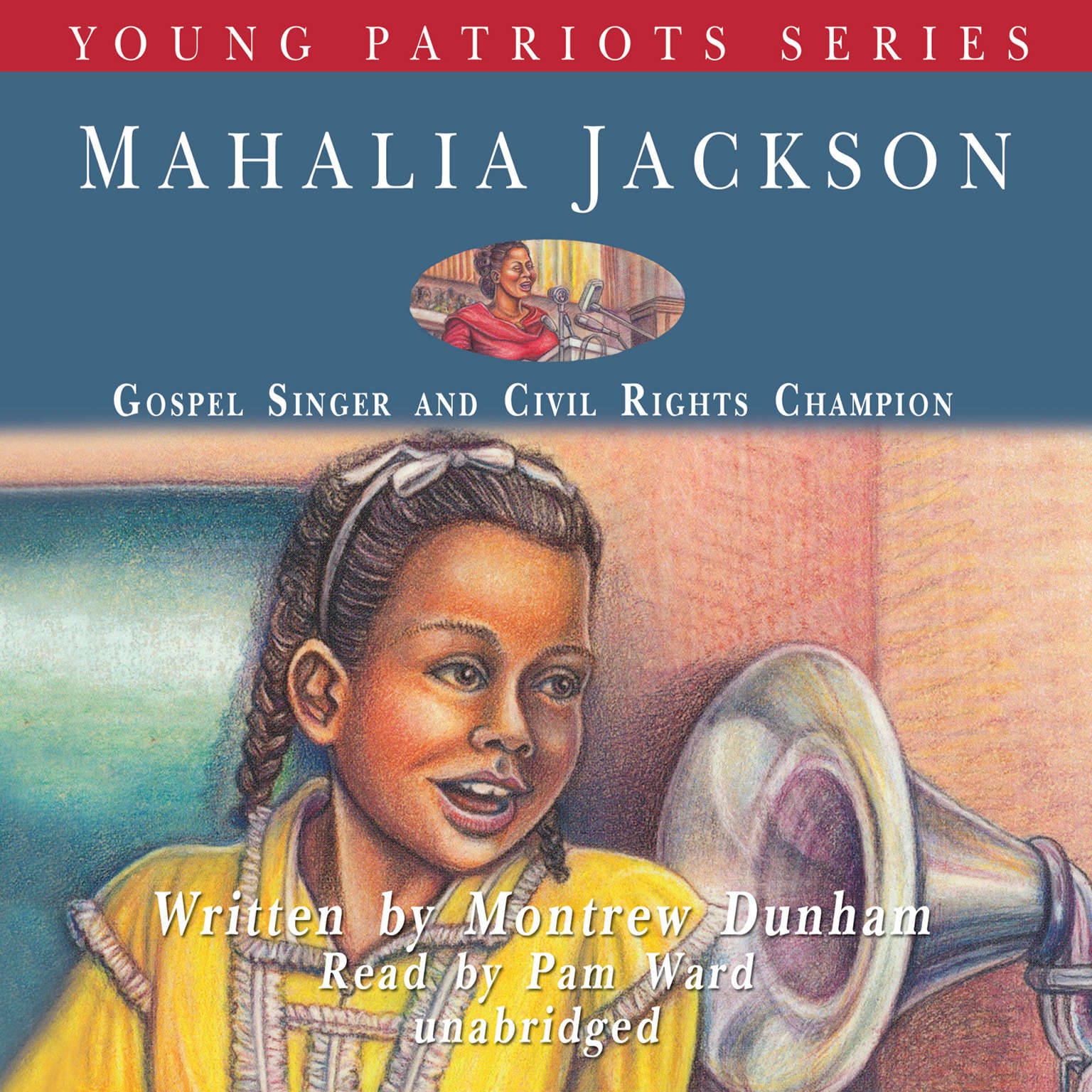 Printable Mahalia Jackson: Gospel Singer and Civil Rights Champion Audiobook Cover Art