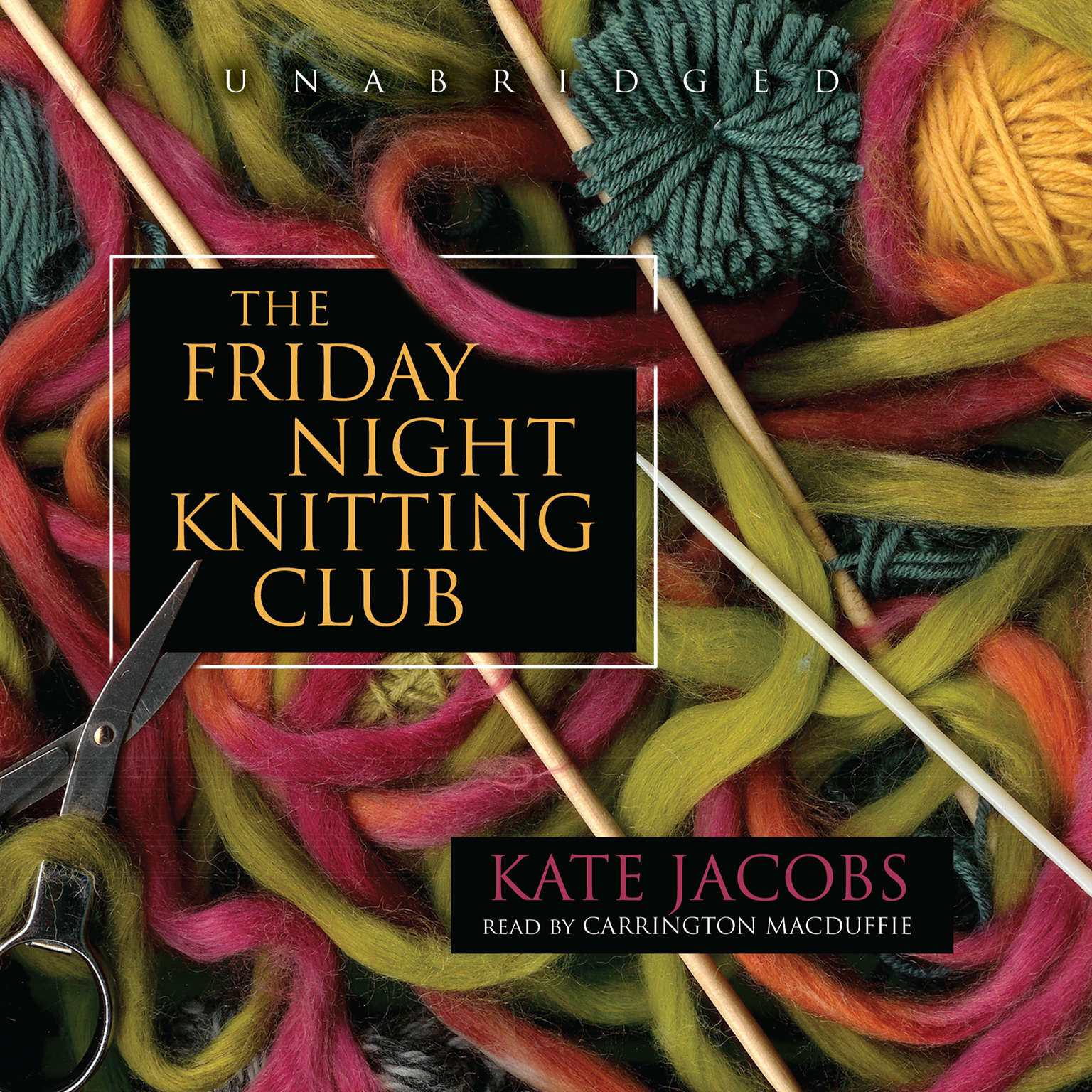 Printable The Friday Night Knitting Club Audiobook Cover Art