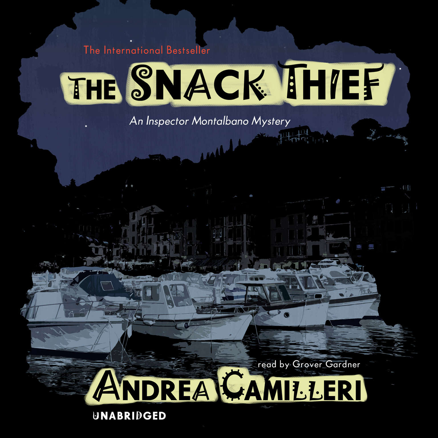 Printable The Snack Thief Audiobook Cover Art
