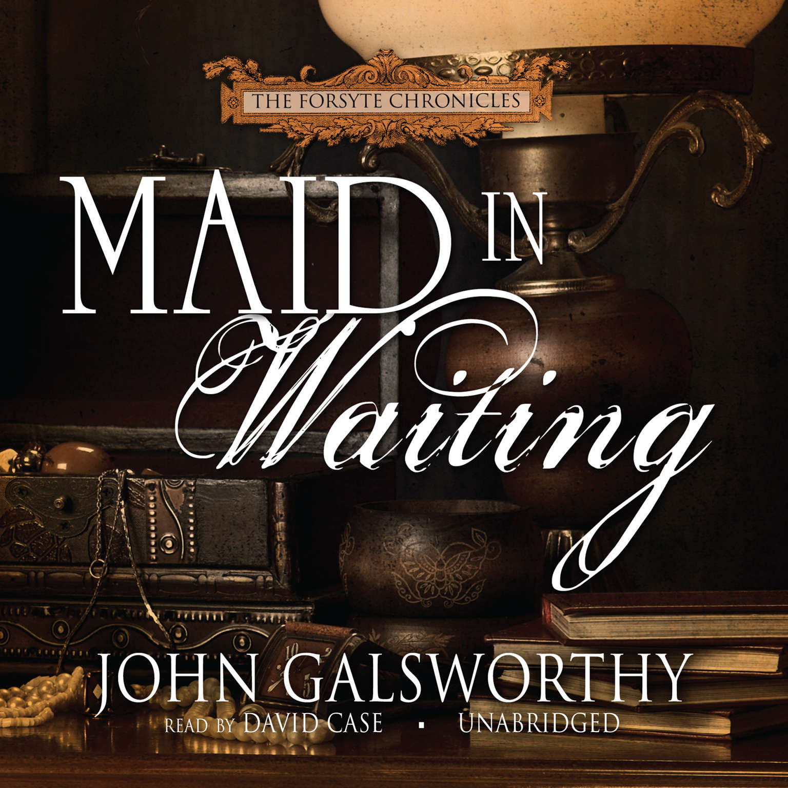 Printable Maid in Waiting Audiobook Cover Art