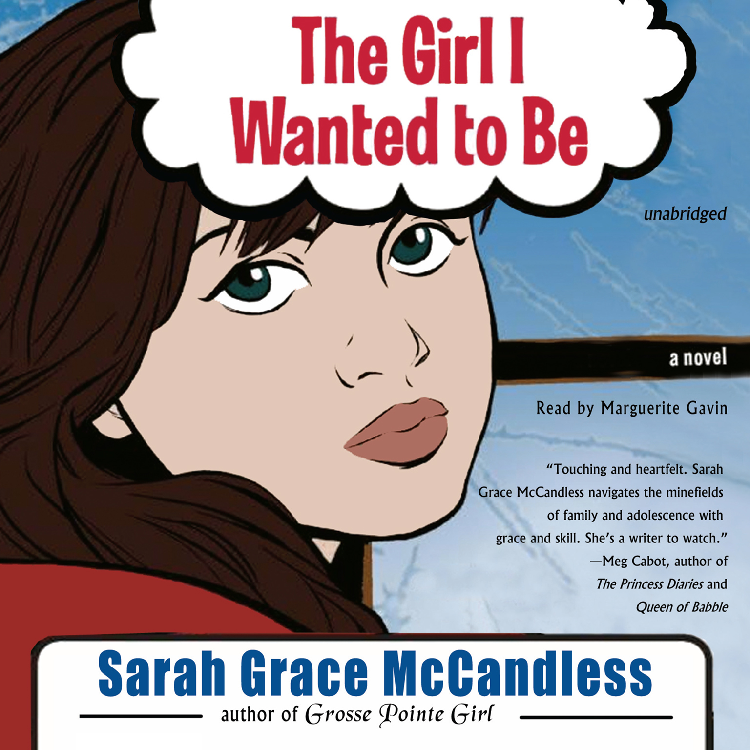 Printable The Girl I Wanted to Be Audiobook Cover Art