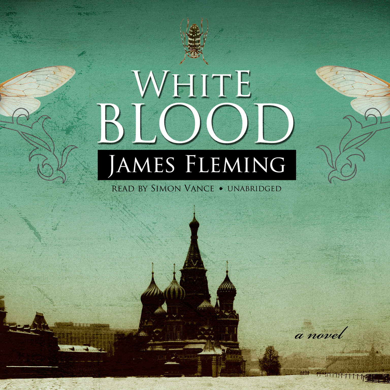 Printable White Blood Audiobook Cover Art