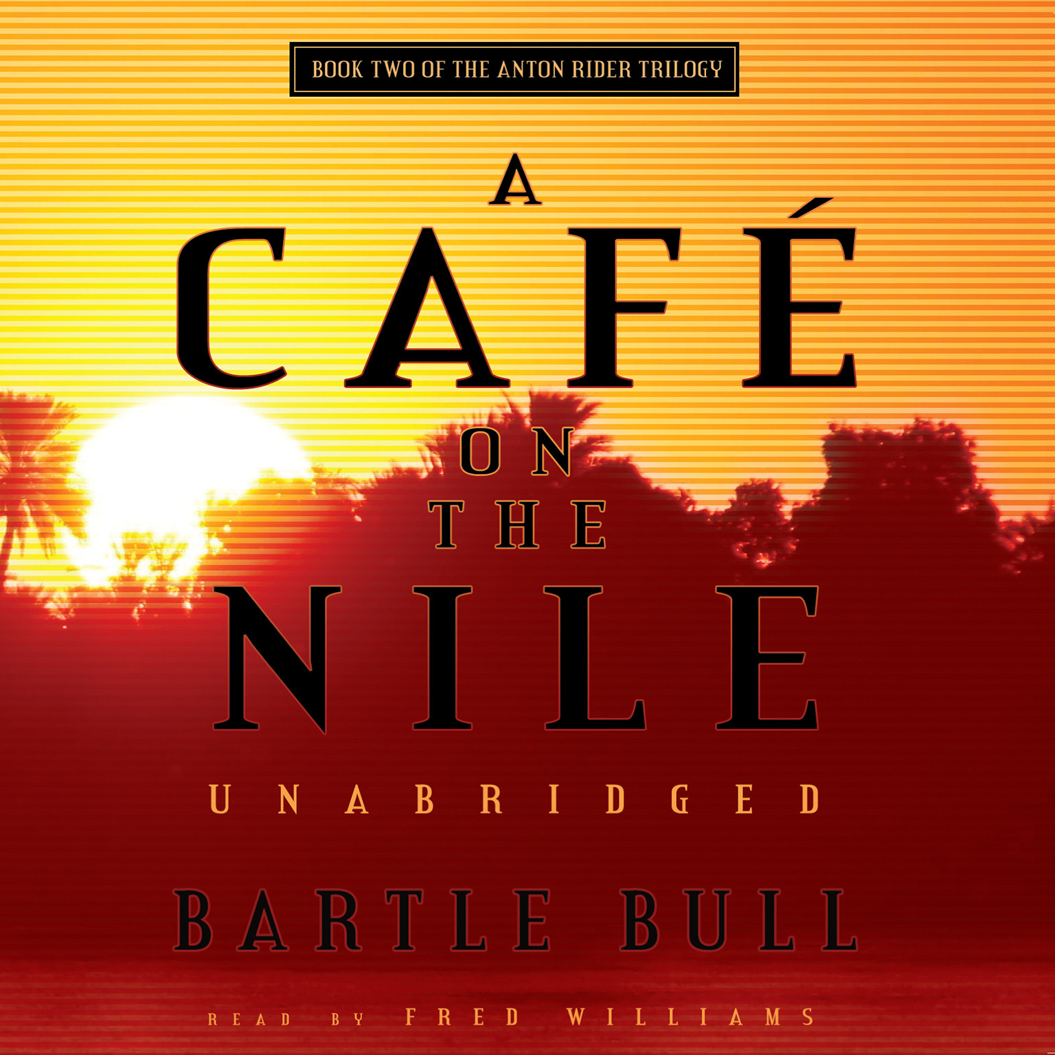 Printable A Café on the Nile Audiobook Cover Art
