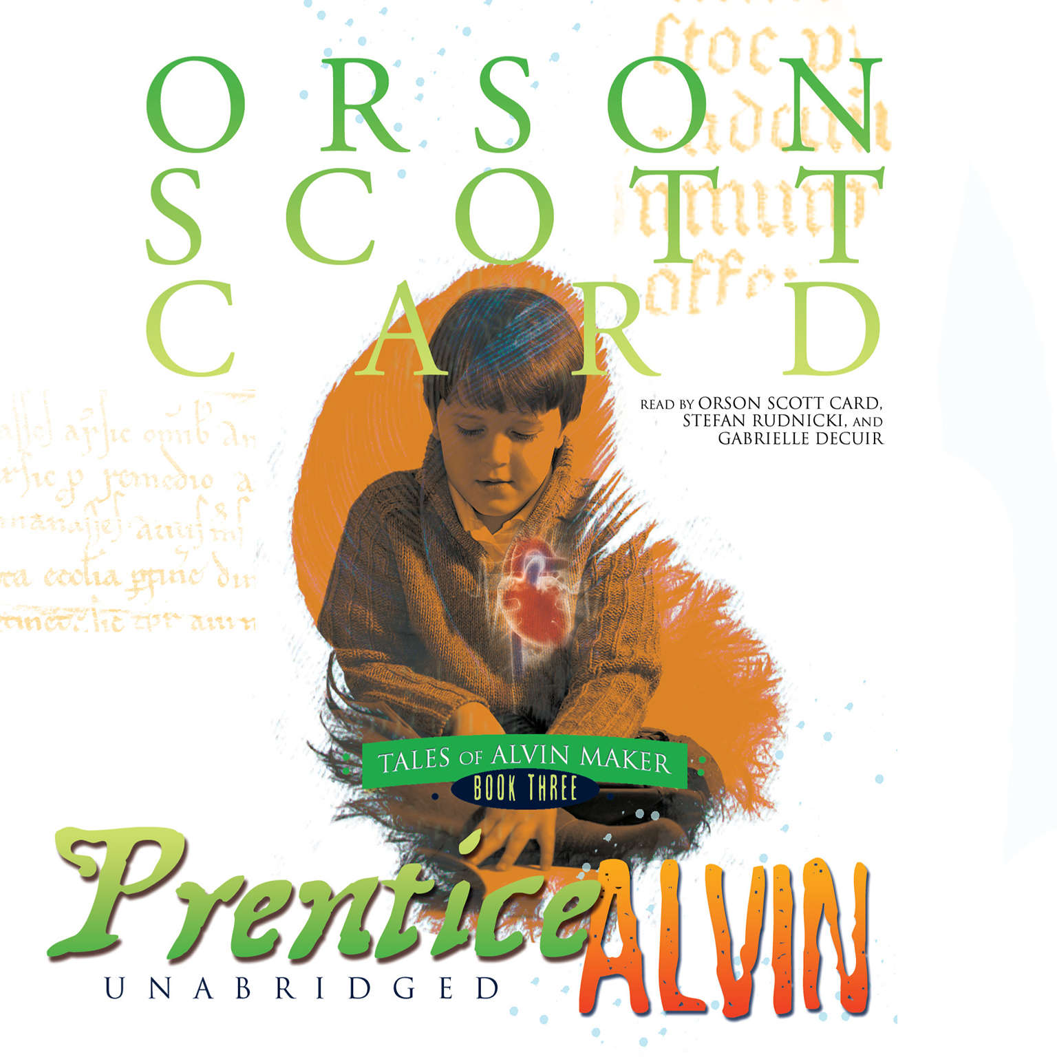 Printable Prentice Alvin Audiobook Cover Art