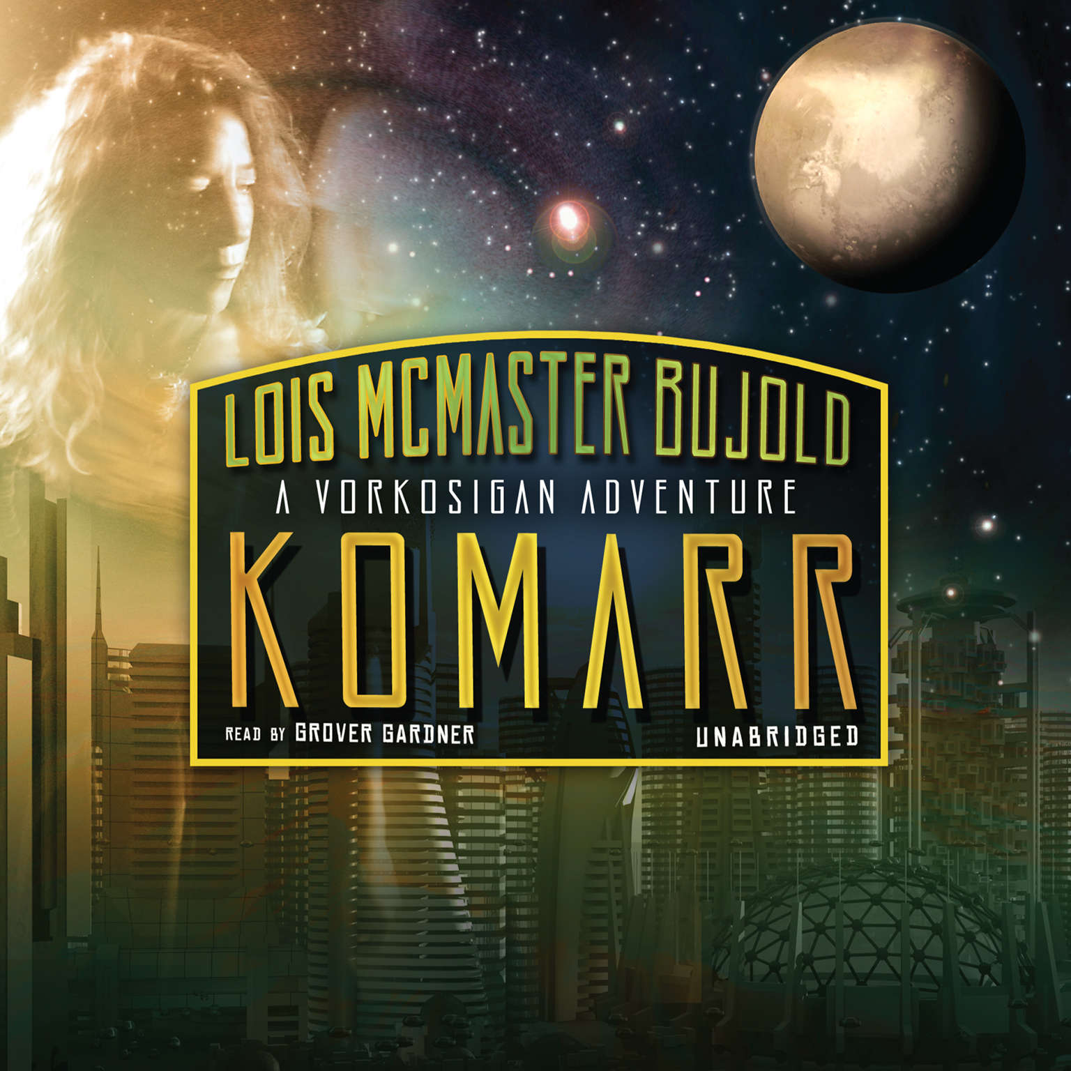 Printable Komarr: A Miles Vorkosigan Adventure Audiobook Cover Art