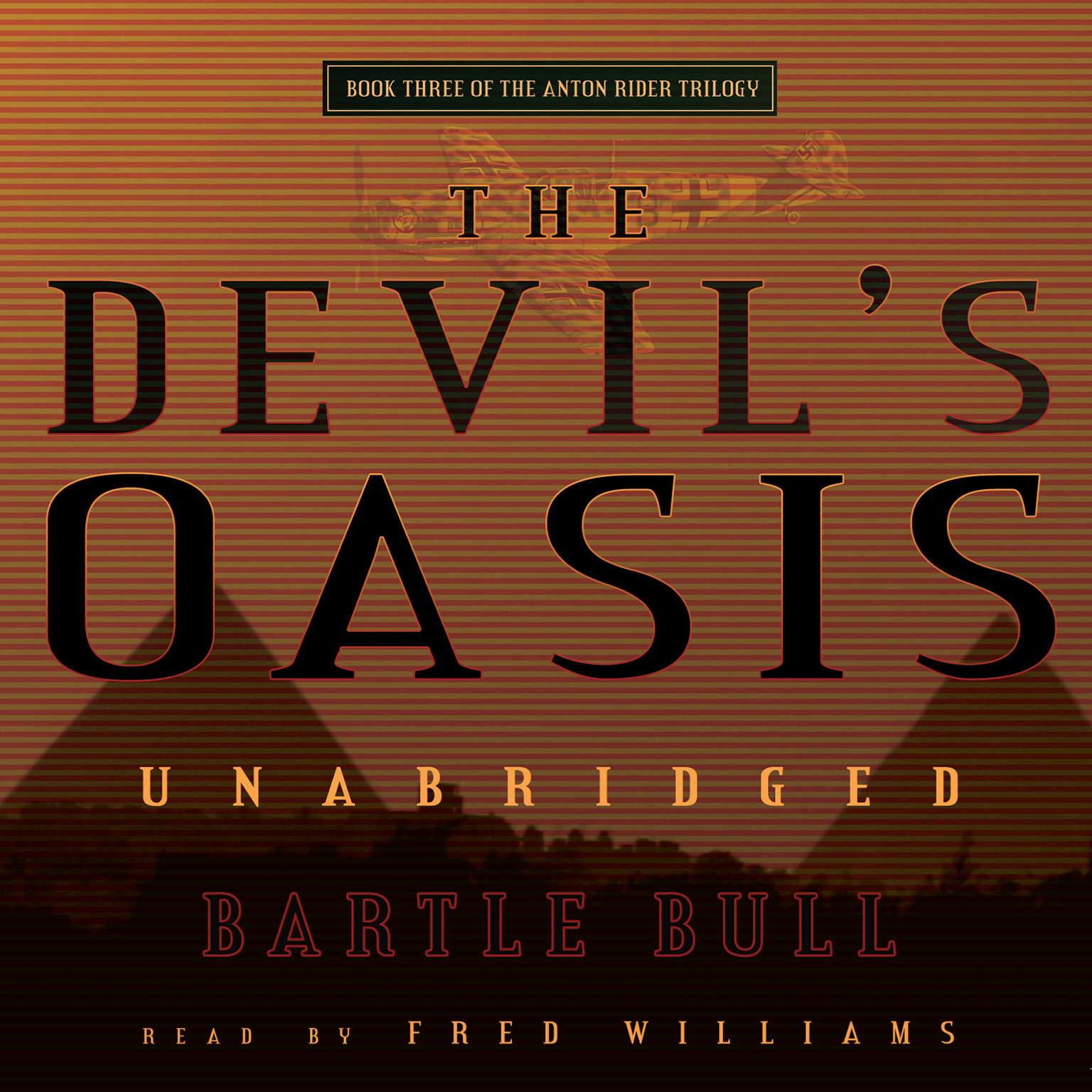 Printable The Devil's Oasis Audiobook Cover Art