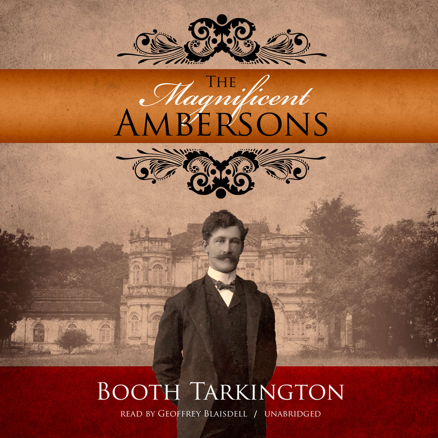 Printable The Magnificent Ambersons Audiobook Cover Art