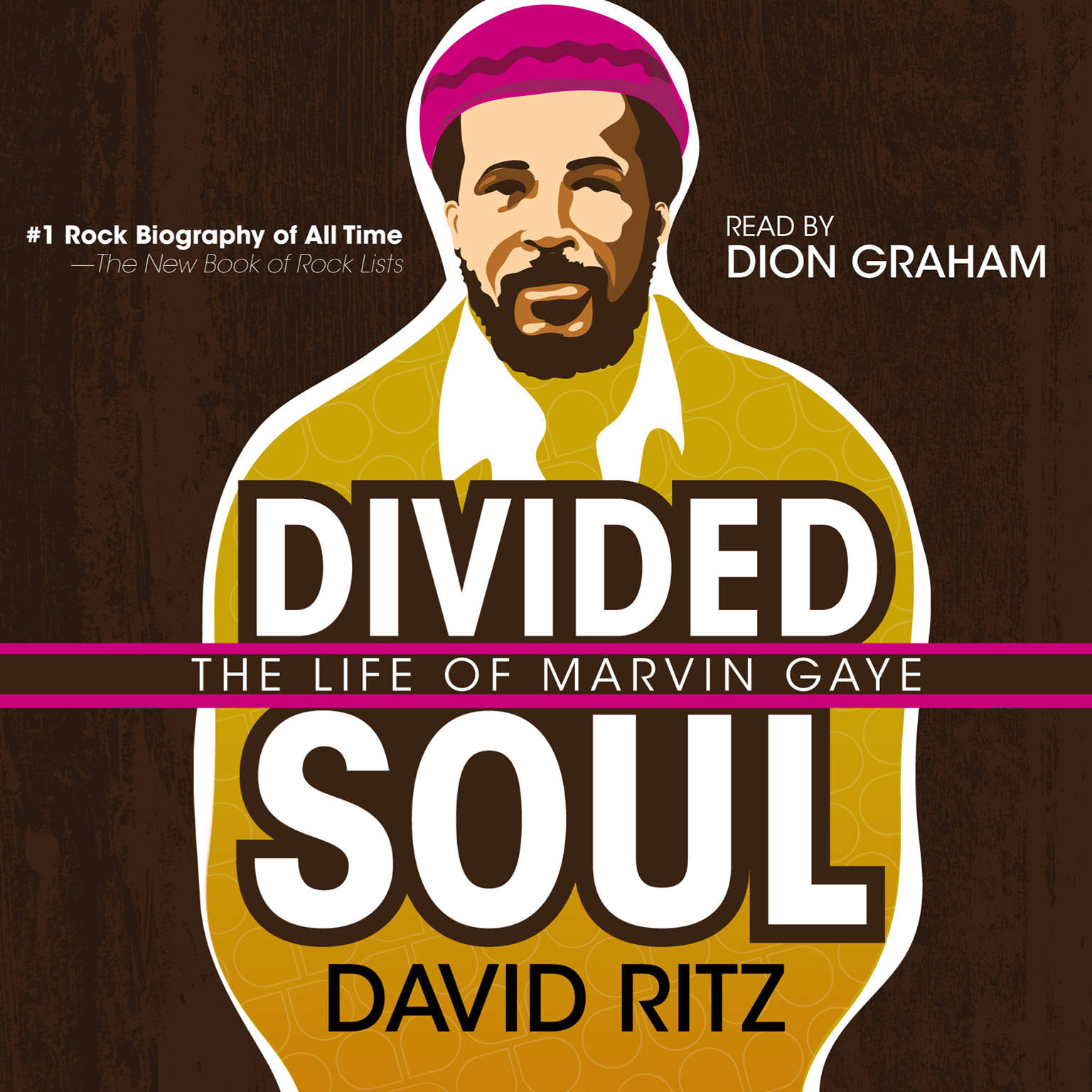Printable Divided Soul: The Life of Marvin Gaye Audiobook Cover Art