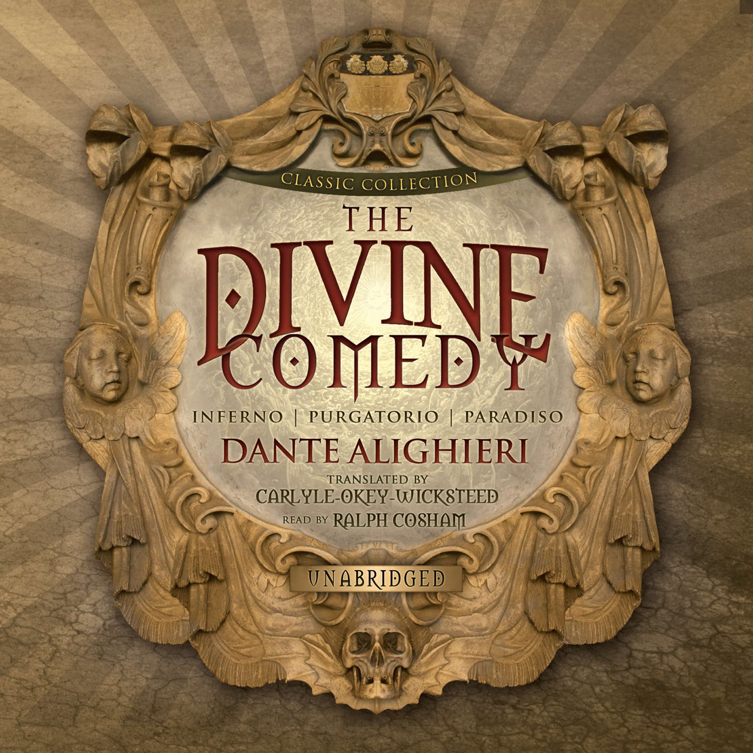 Printable The Divine Comedy Audiobook Cover Art