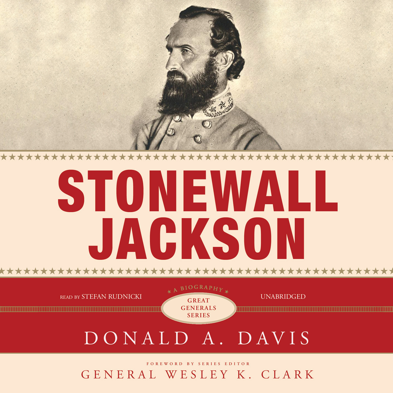 Printable Stonewall Jackson: A Biography Audiobook Cover Art