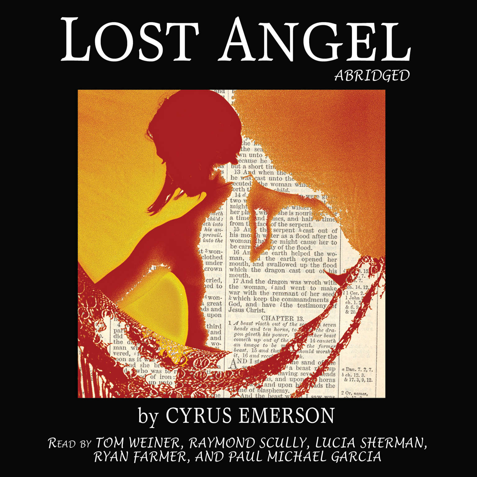 Printable Lost Angel Audiobook Cover Art
