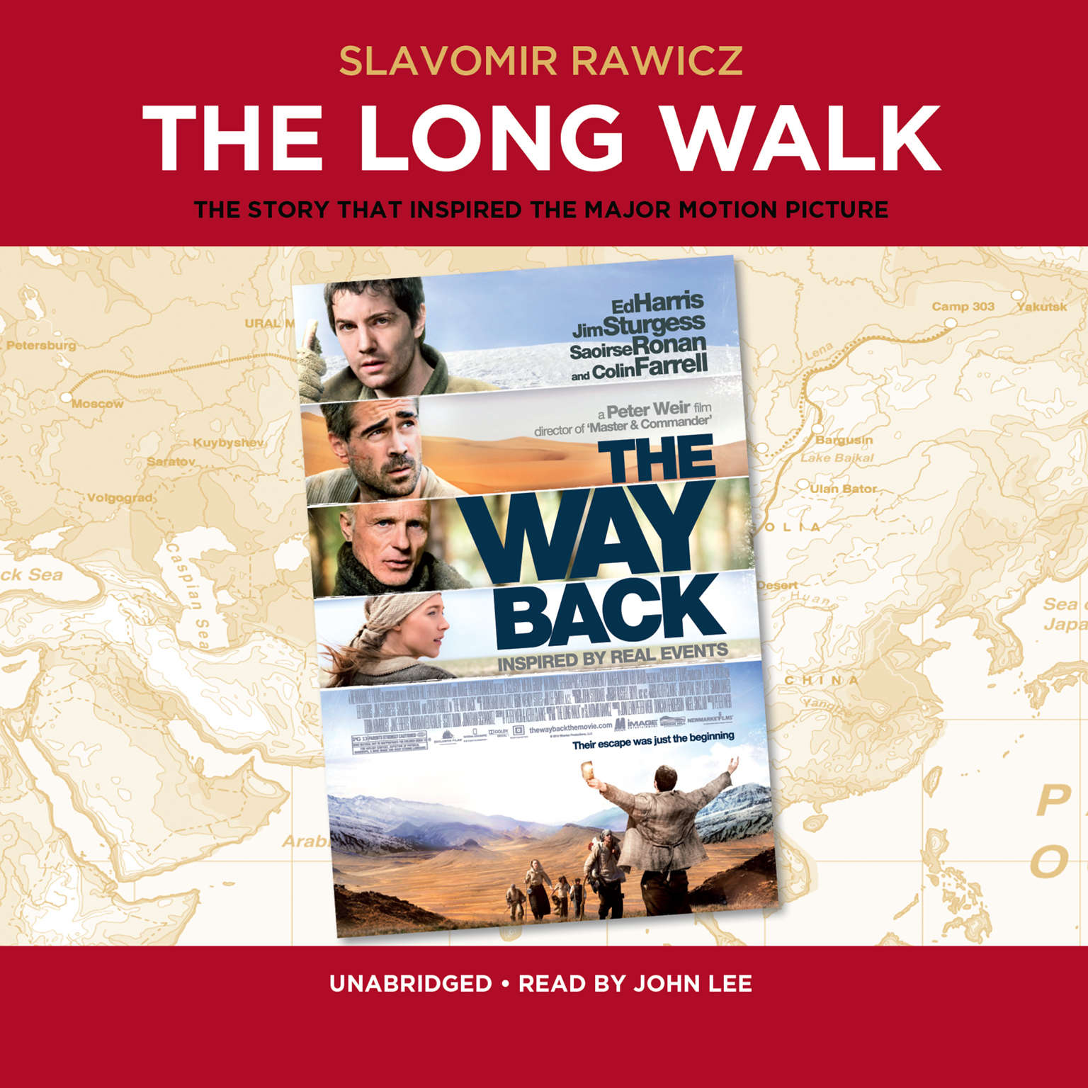 Printable The Long Walk: The True Story of a Trek to Freedom Audiobook Cover Art