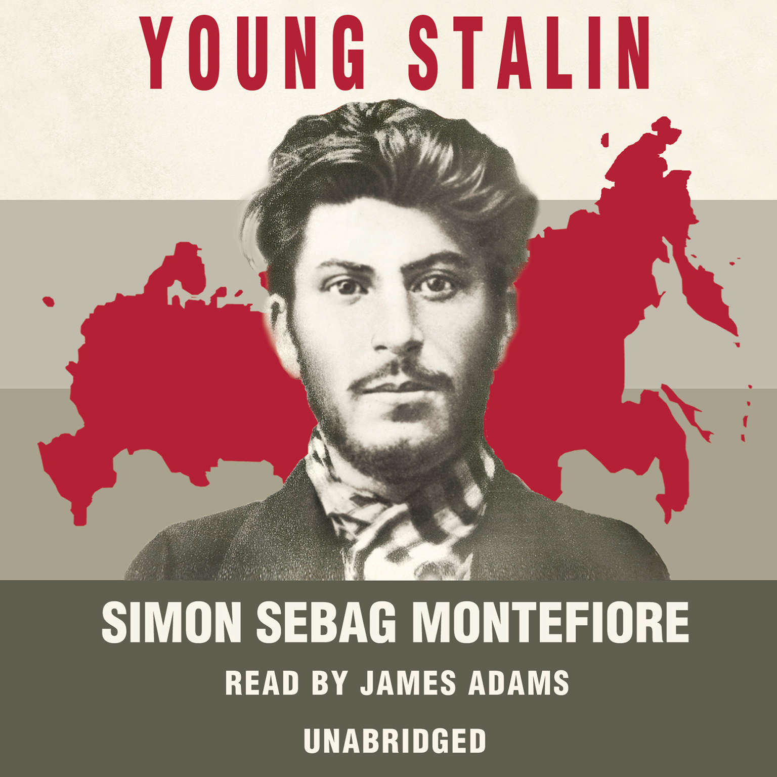 Printable Young Stalin Audiobook Cover Art