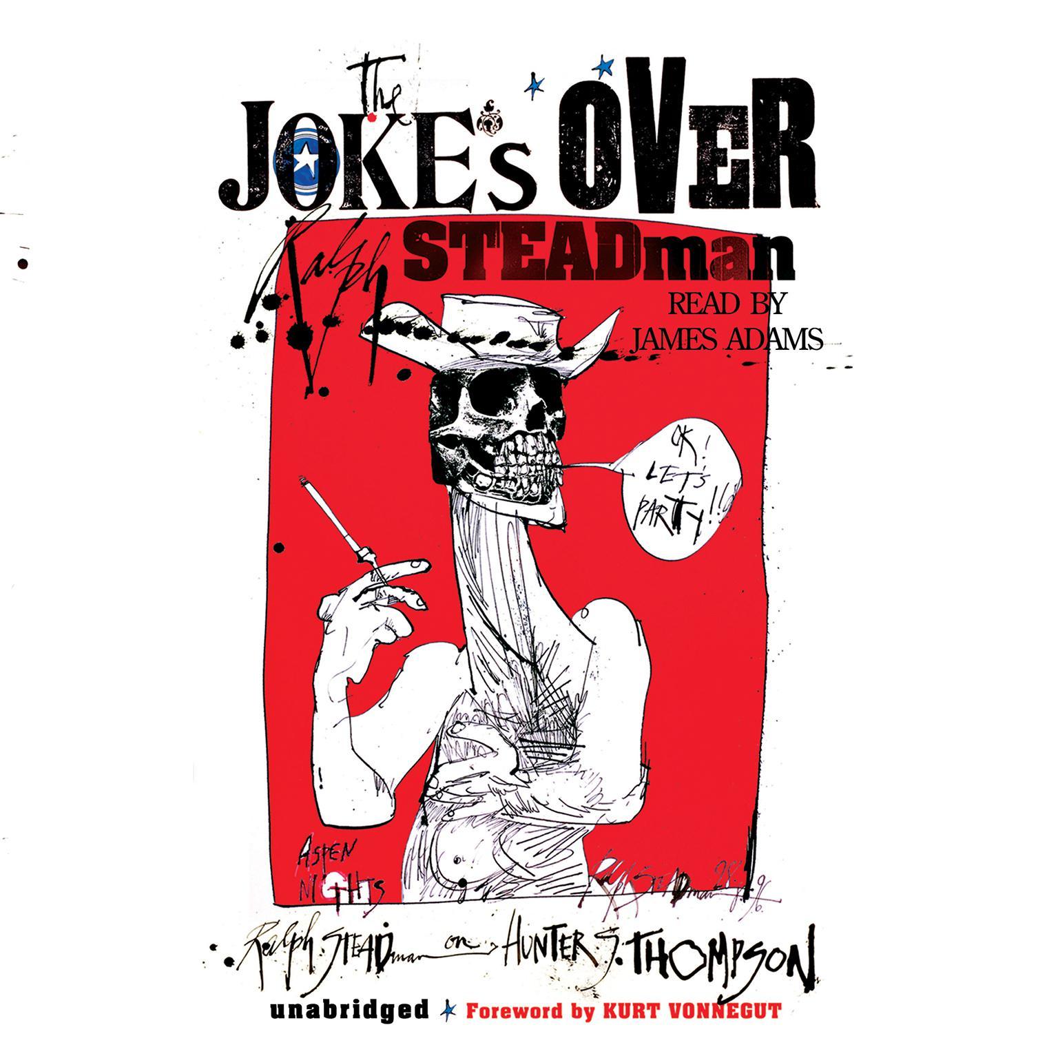 Printable The Joke's Over: Bruised Memories: Gonzo, Hunter S. Thompson, and Me Audiobook Cover Art