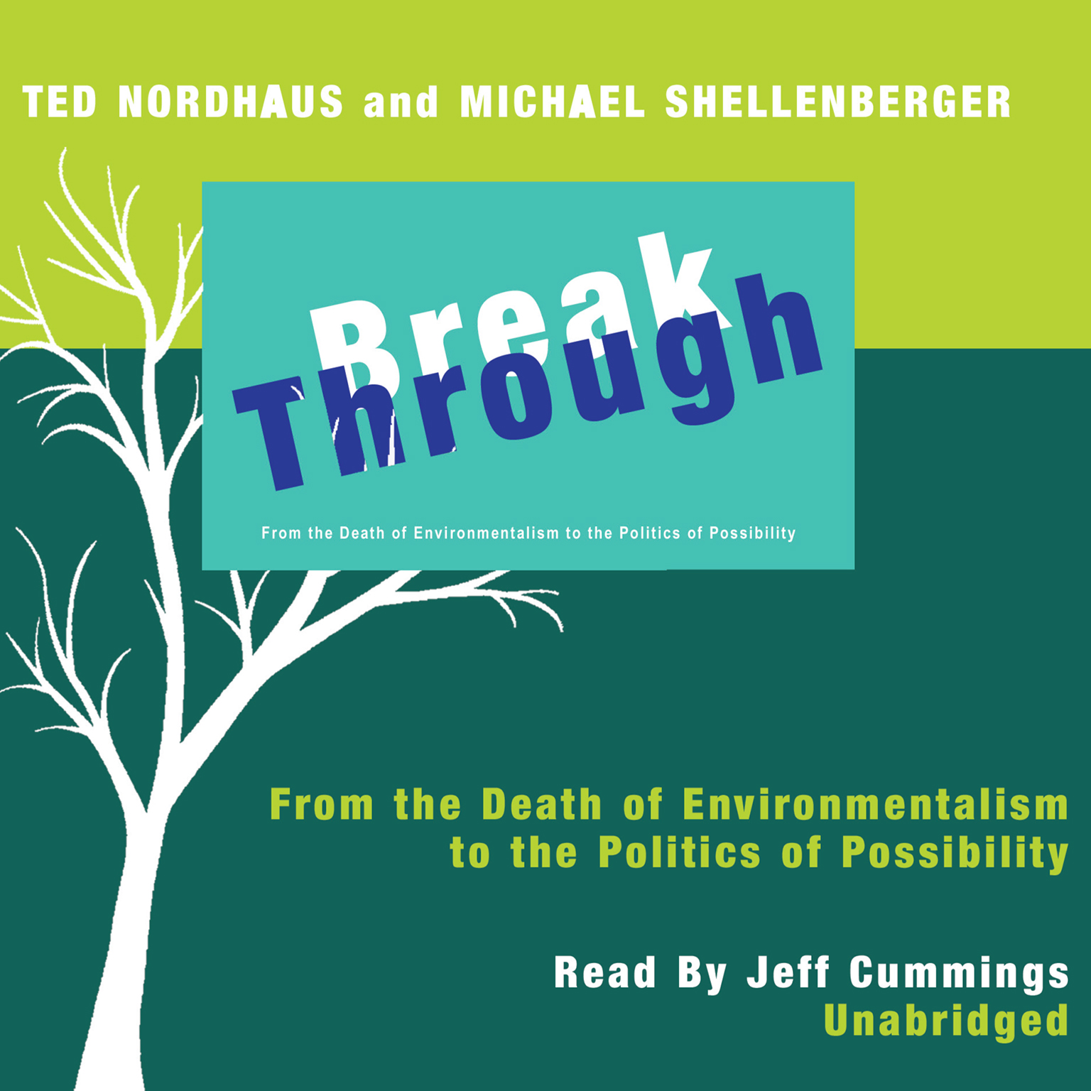 Printable Break Through: From the Death of Environmentalism to the Politics of Possibility Audiobook Cover Art
