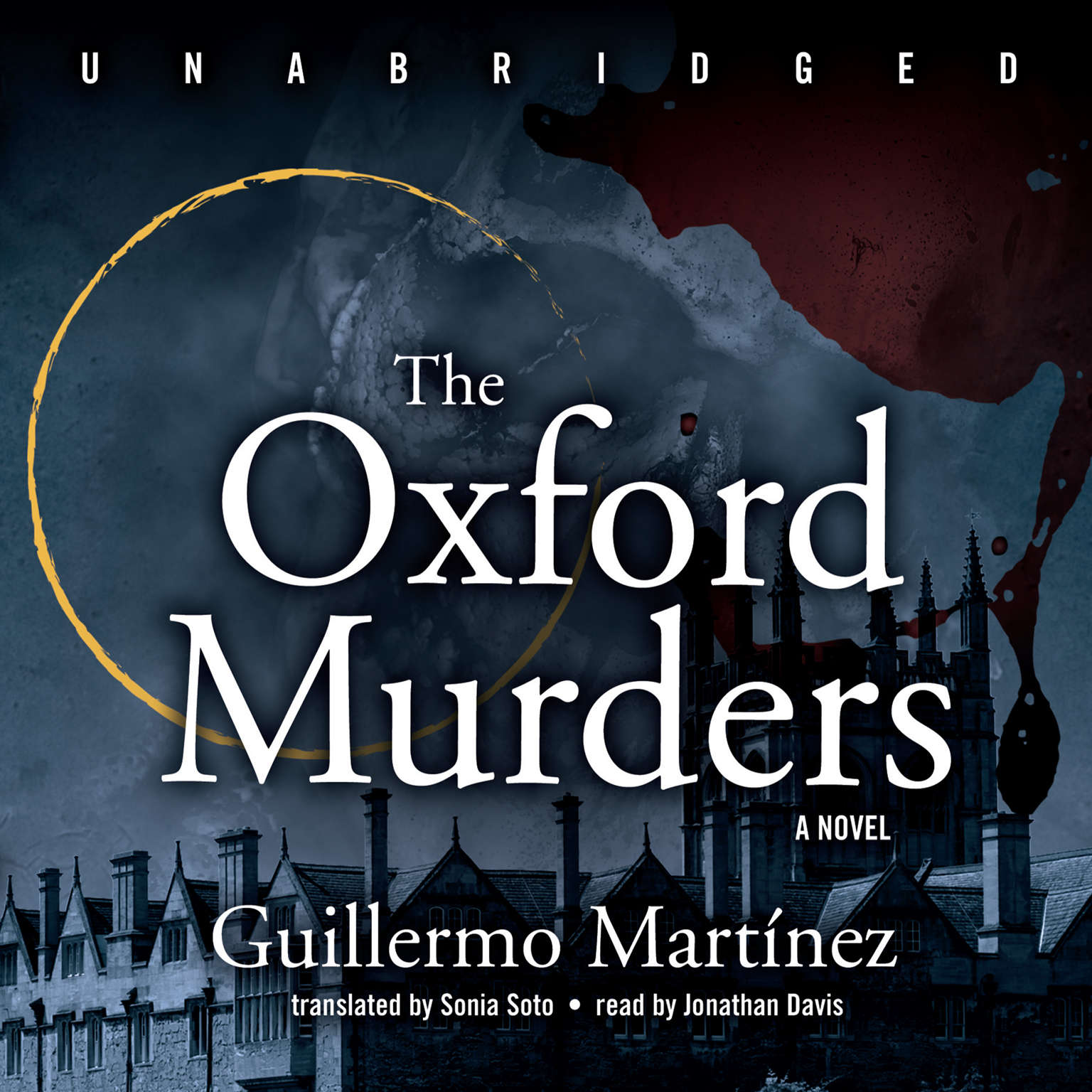 Printable The Oxford Murders Audiobook Cover Art