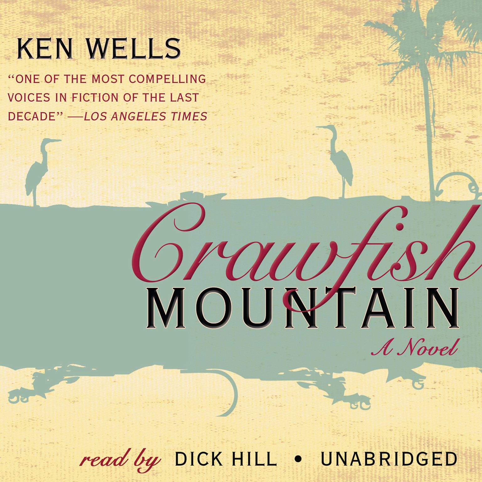 Printable Crawfish Mountain: A Novel Audiobook Cover Art