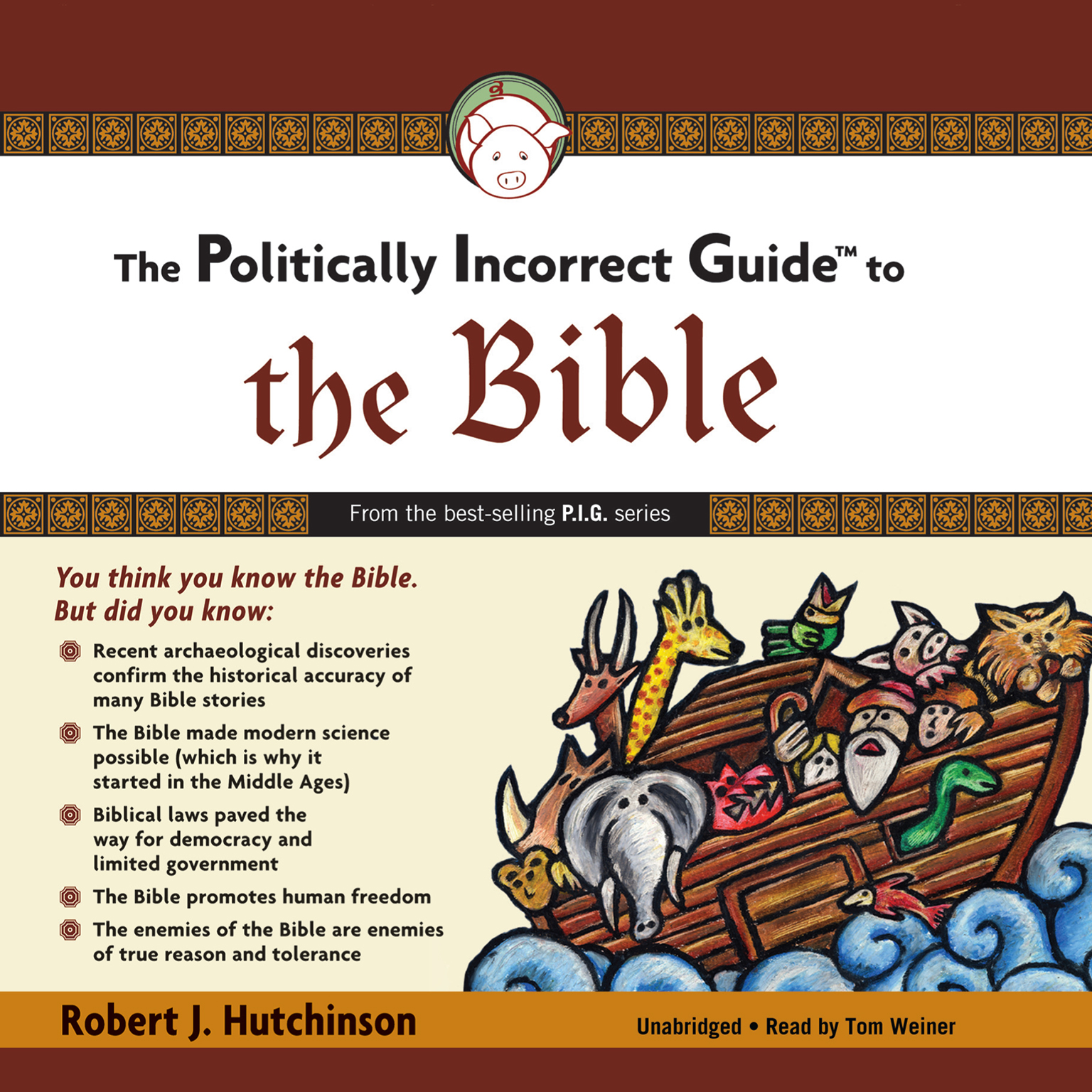 Printable The Politically Incorrect Guide to the Bible Audiobook Cover Art