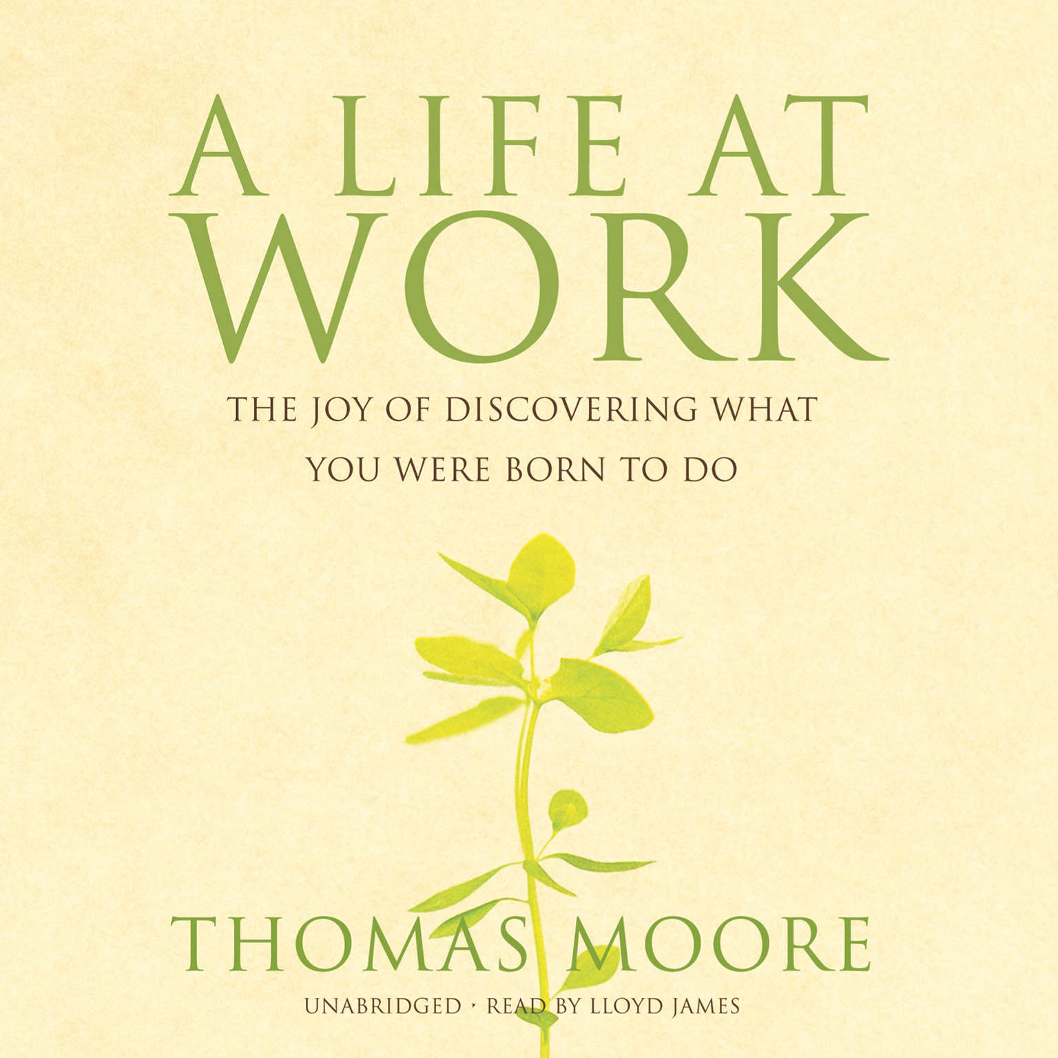 Printable A Life at Work: The Joy of Discovering What You Were Born to Do Audiobook Cover Art