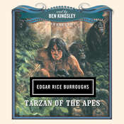 Tarzan of the Apes Audiobook, by Edgar Rice Burroughs