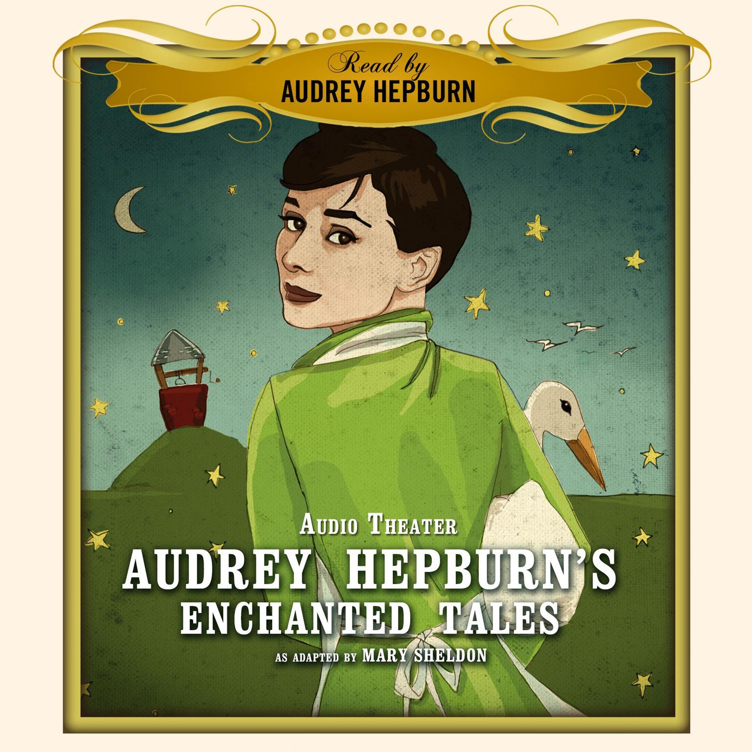 Printable Audrey Hepburn's Enchanted Tales Audiobook Cover Art