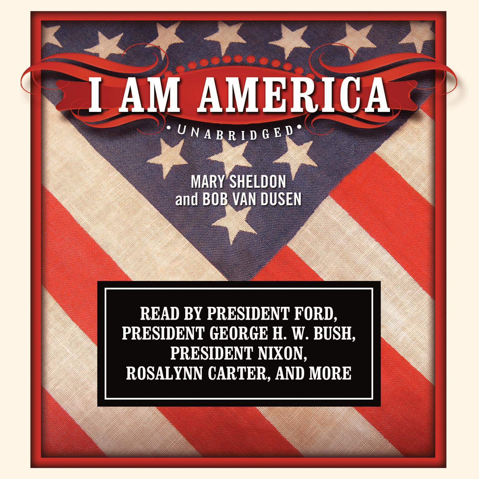 Printable I Am America Audiobook Cover Art