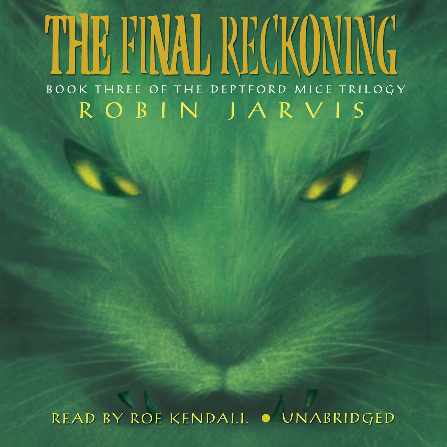 Printable The Final Reckoning Audiobook Cover Art