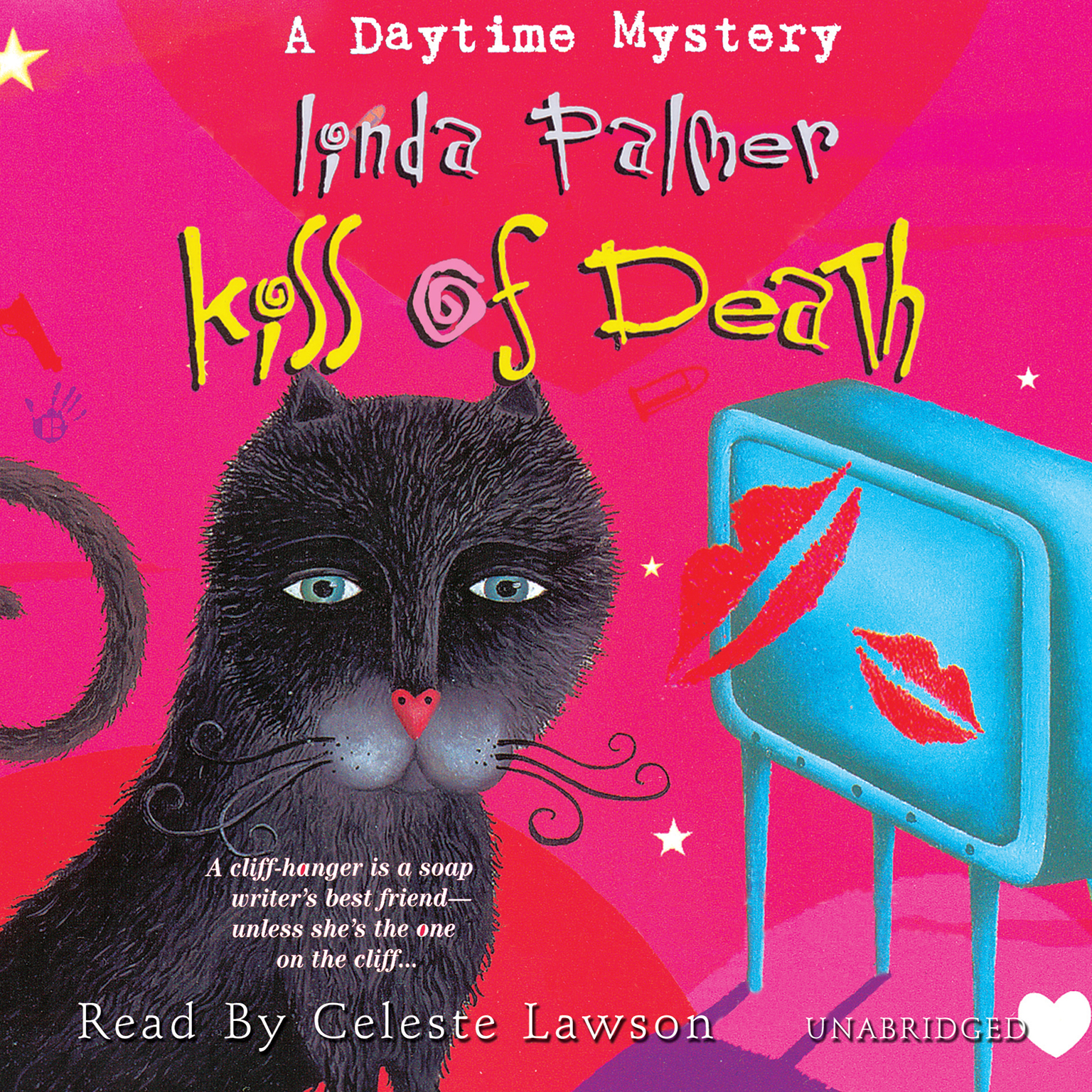 Printable Kiss of Death: A Daytime Mystery Audiobook Cover Art