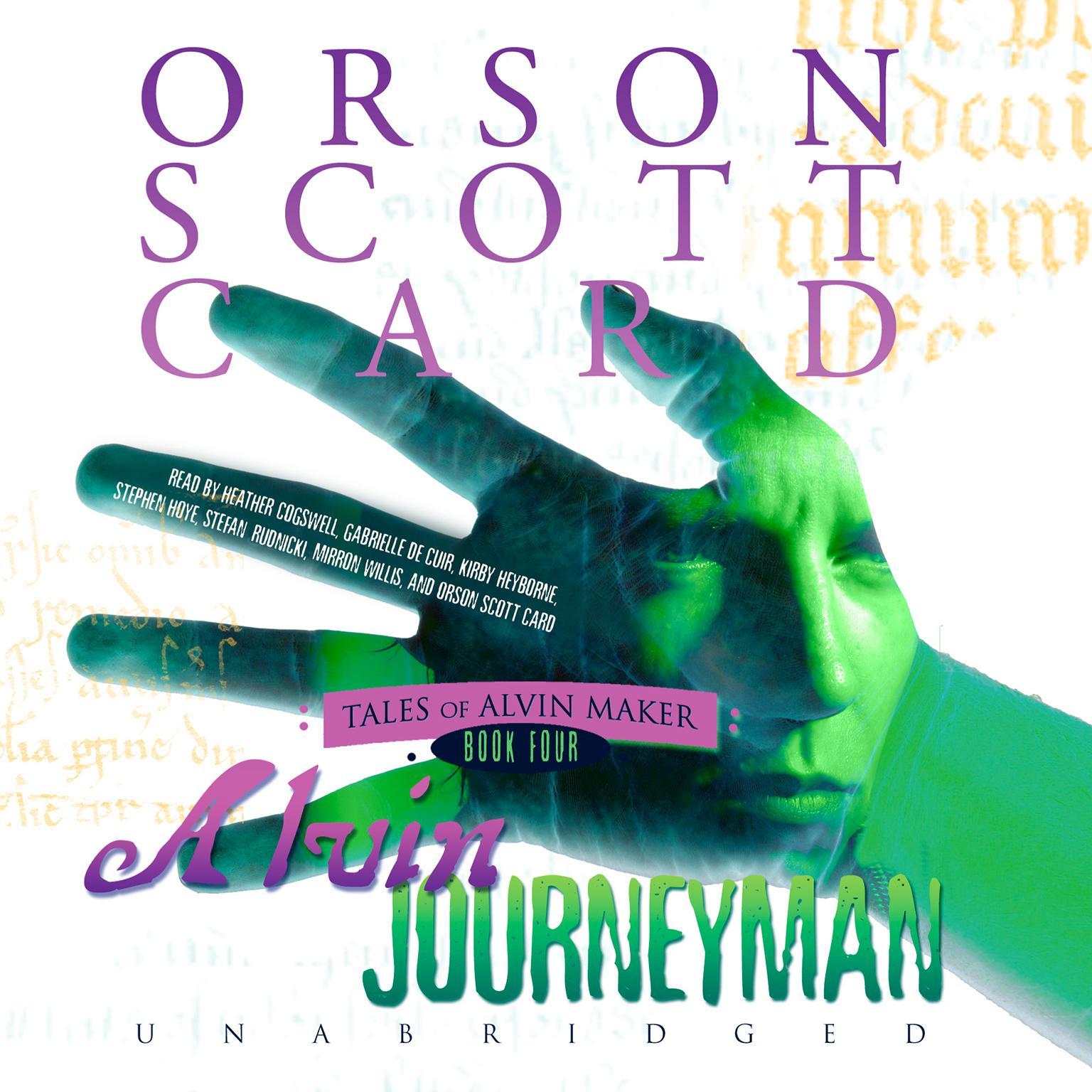 Printable Alvin Journeyman Audiobook Cover Art