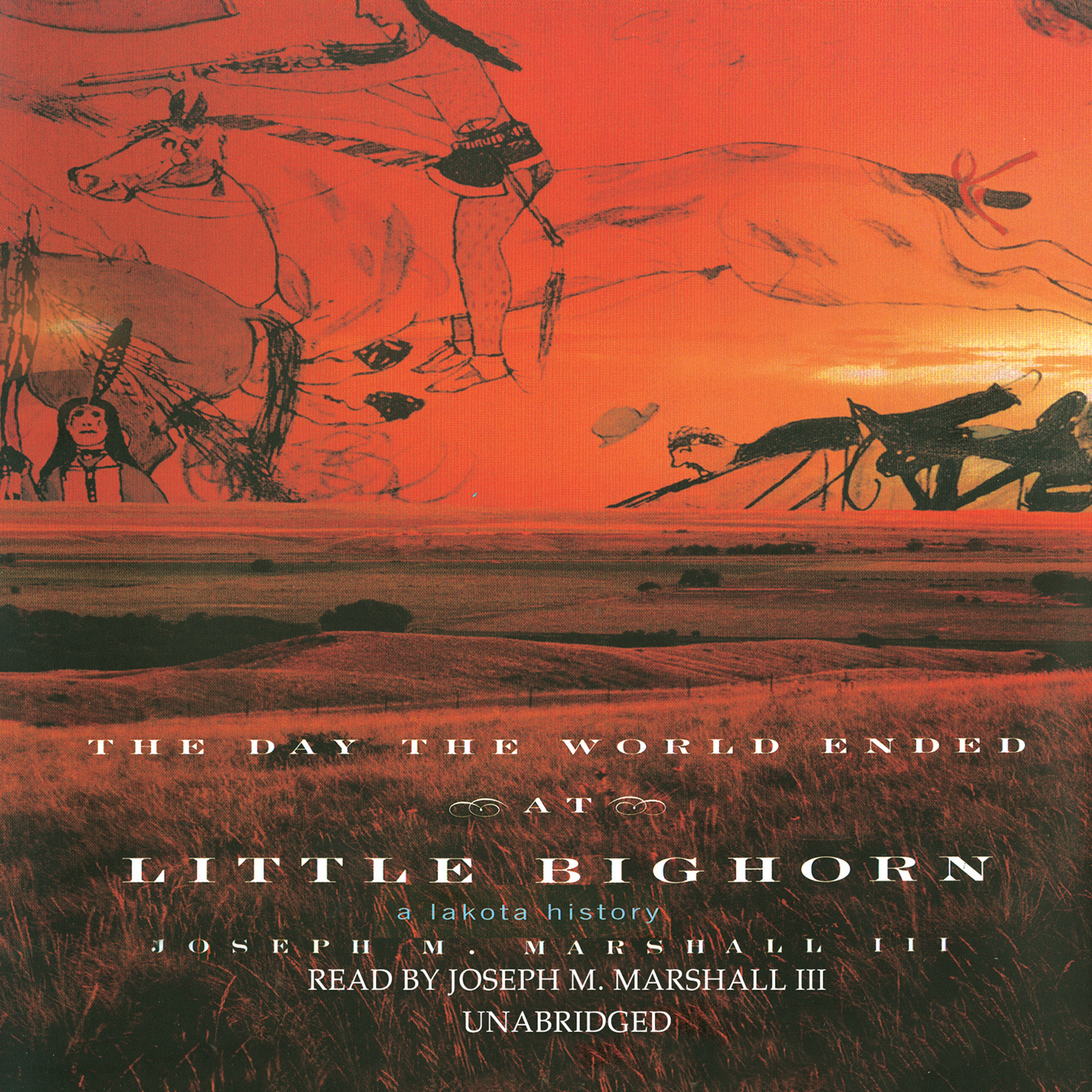 Printable The Day the World Ended at Little Bighorn: A Lakota History Audiobook Cover Art