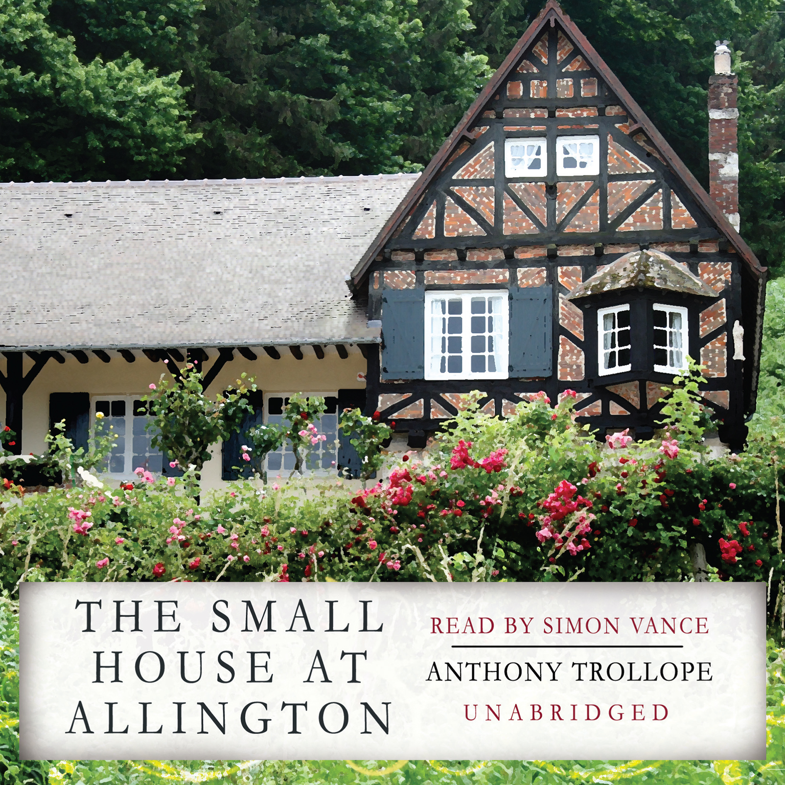 Printable The Small House at Allington Audiobook Cover Art