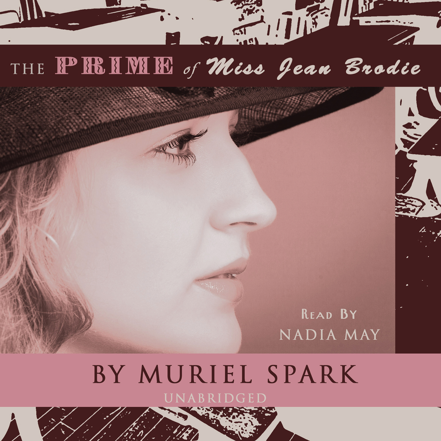 Printable The Prime of Miss Jean Brodie Audiobook Cover Art