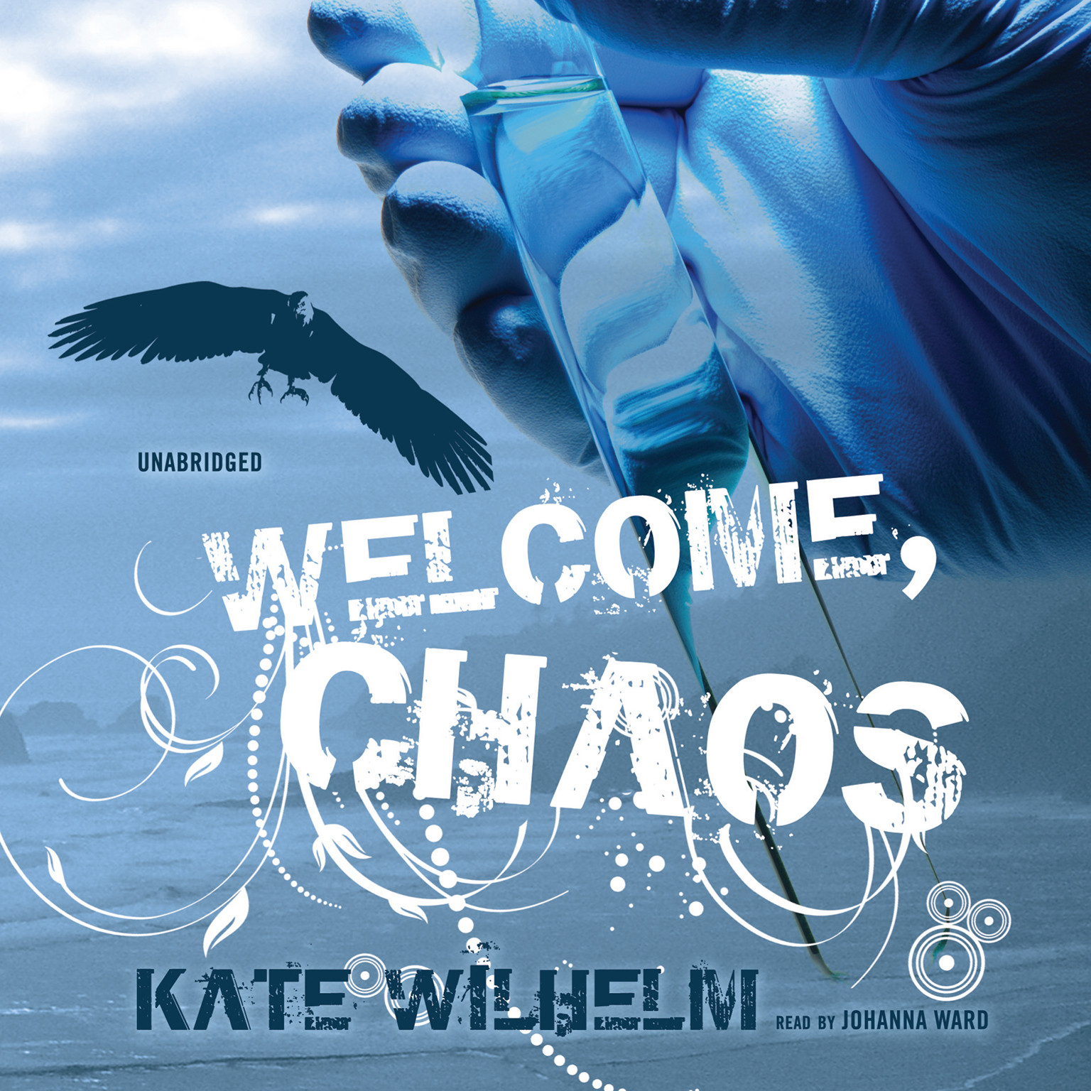 Printable Welcome, Chaos Audiobook Cover Art