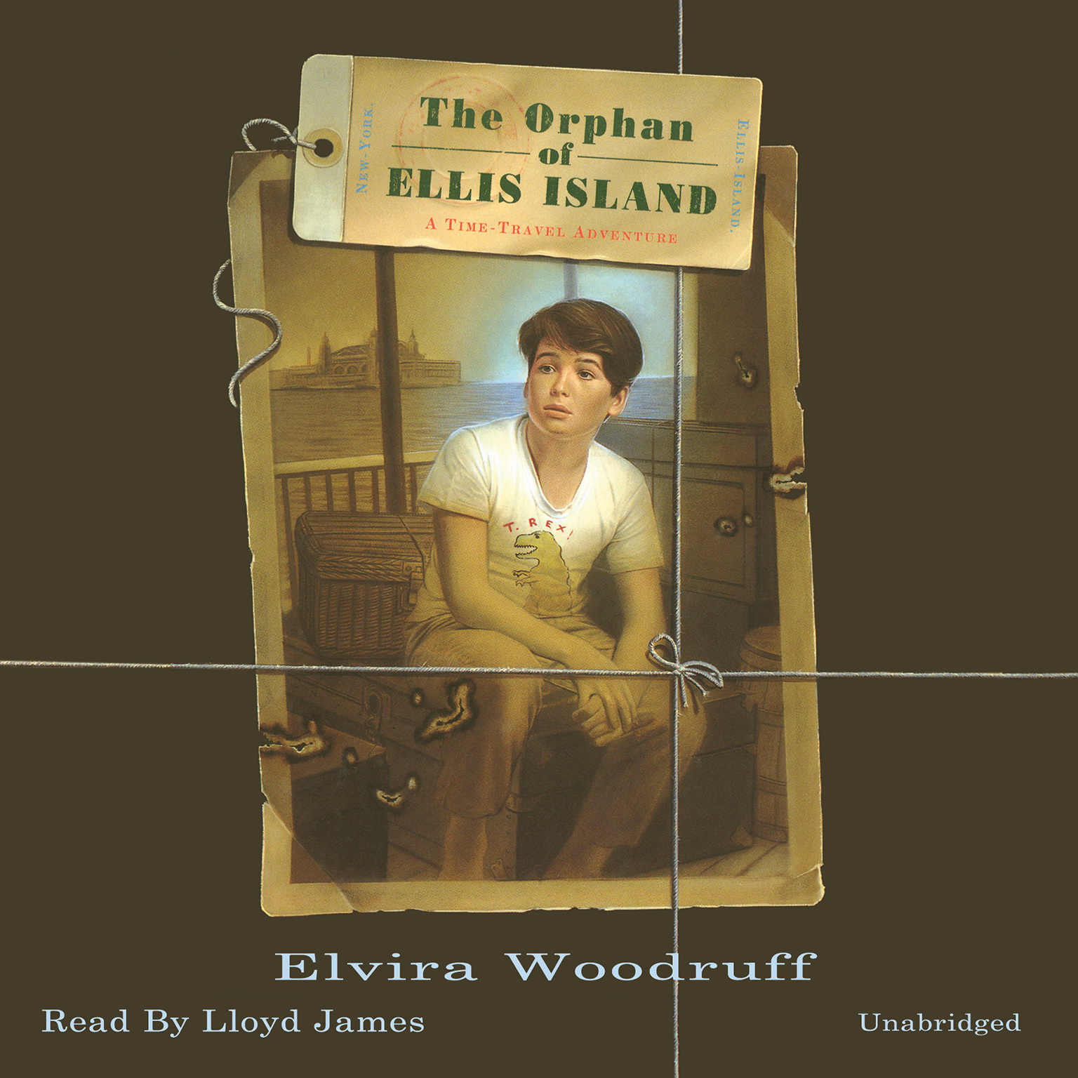 Printable The Orphan of Ellis Island: A Time-Travel Adventure Audiobook Cover Art